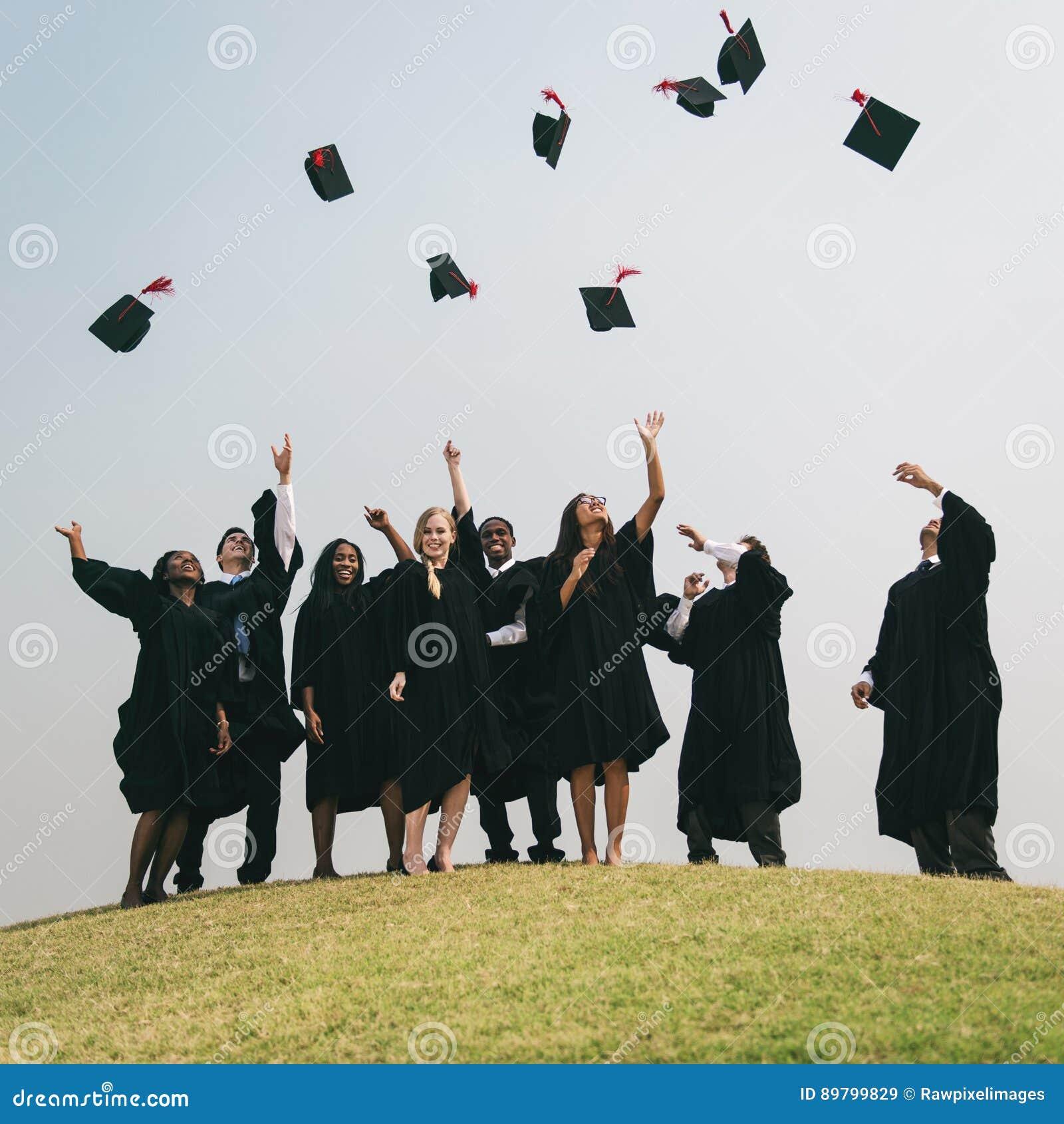 Conceito bem sucedido da faculdade da graduação do PHD dos mestres