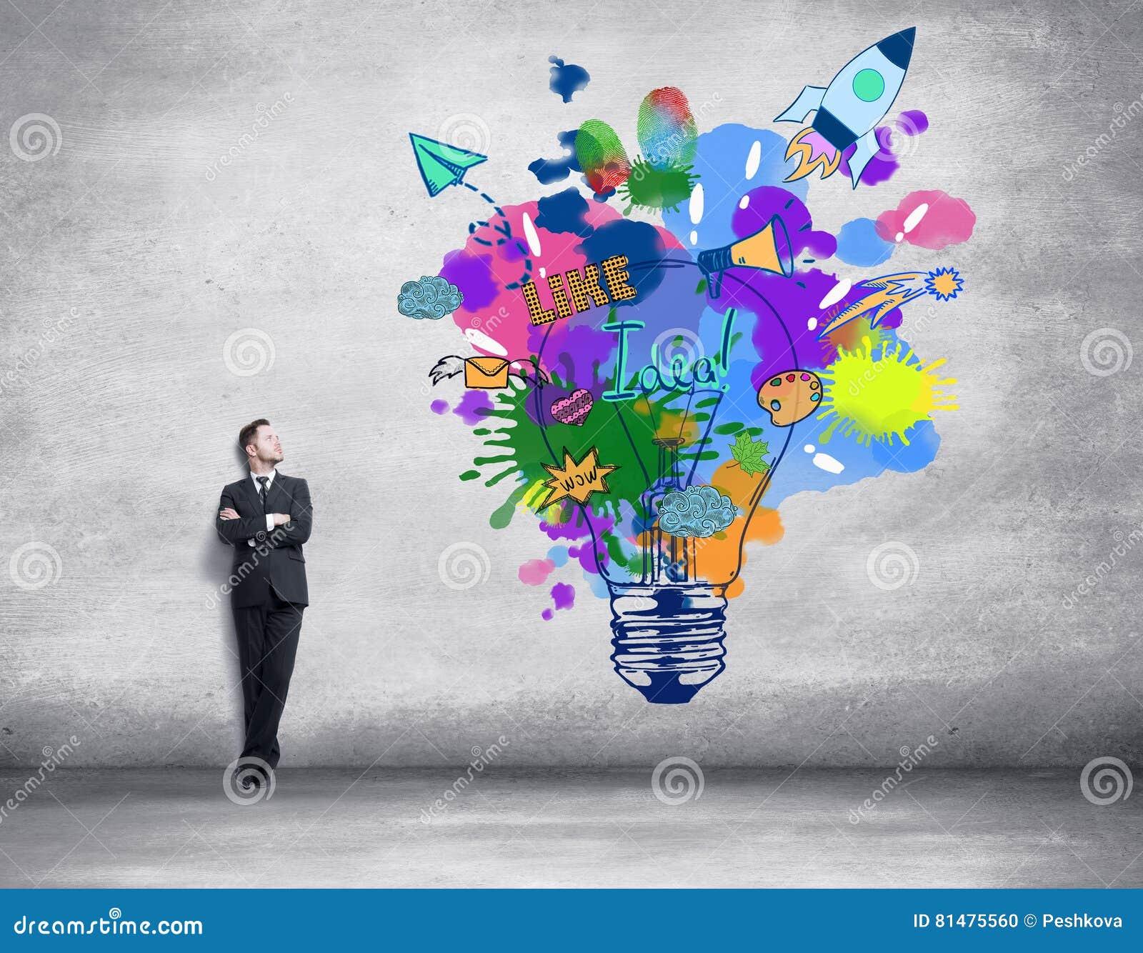 Conceito creativo da idéia