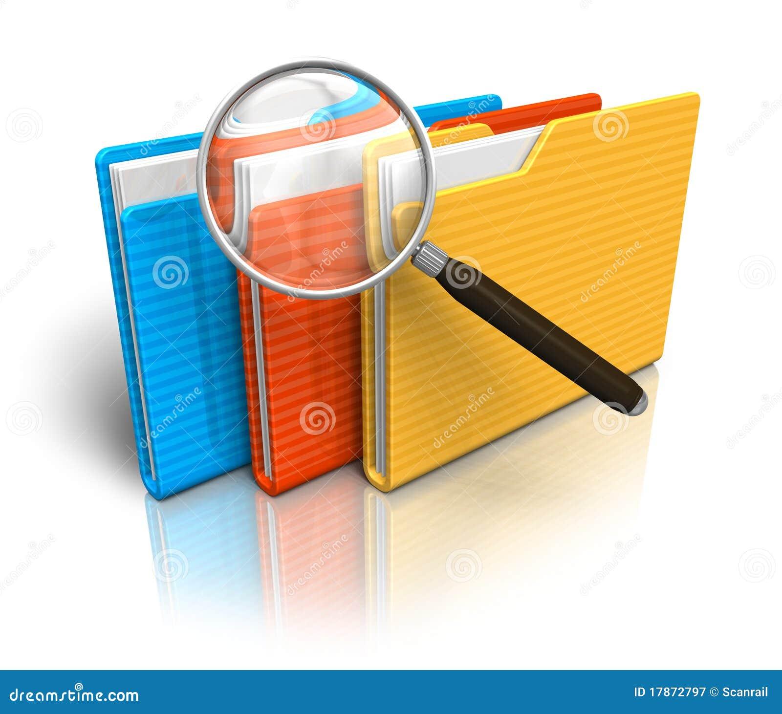 Conceito da busca do arquivo