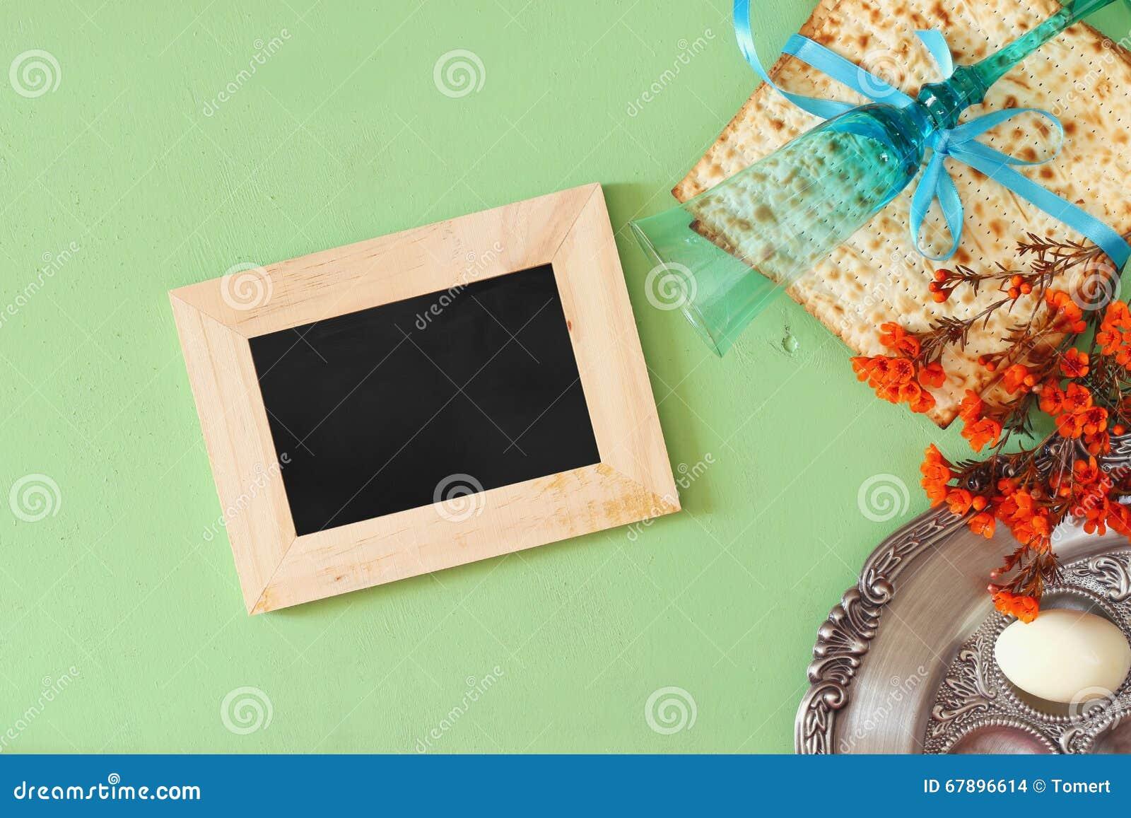 Conceito da celebração de Pesah (feriado judaico da páscoa judaica)