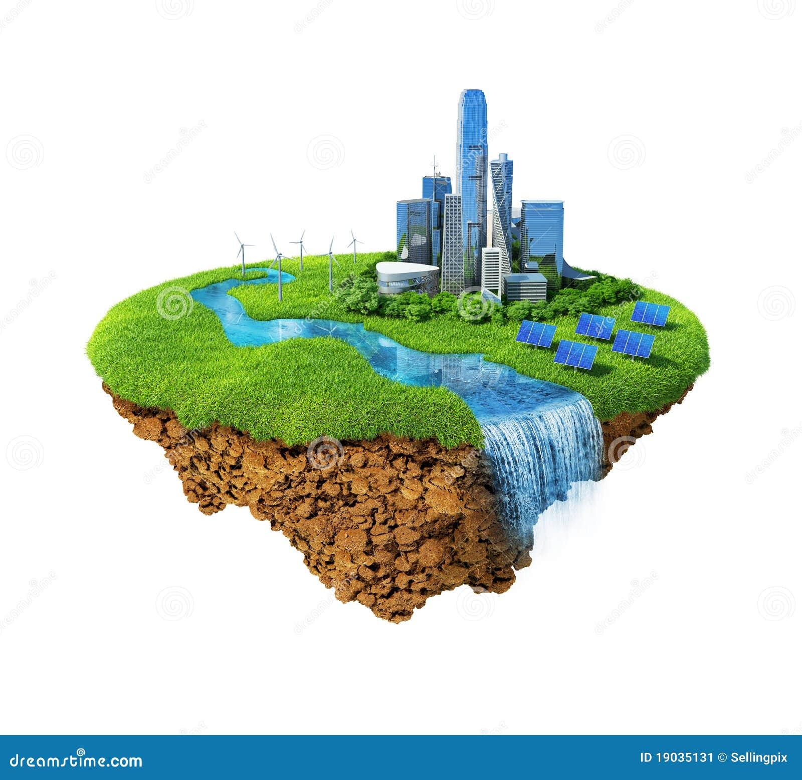 Conceito da cidade de Eco
