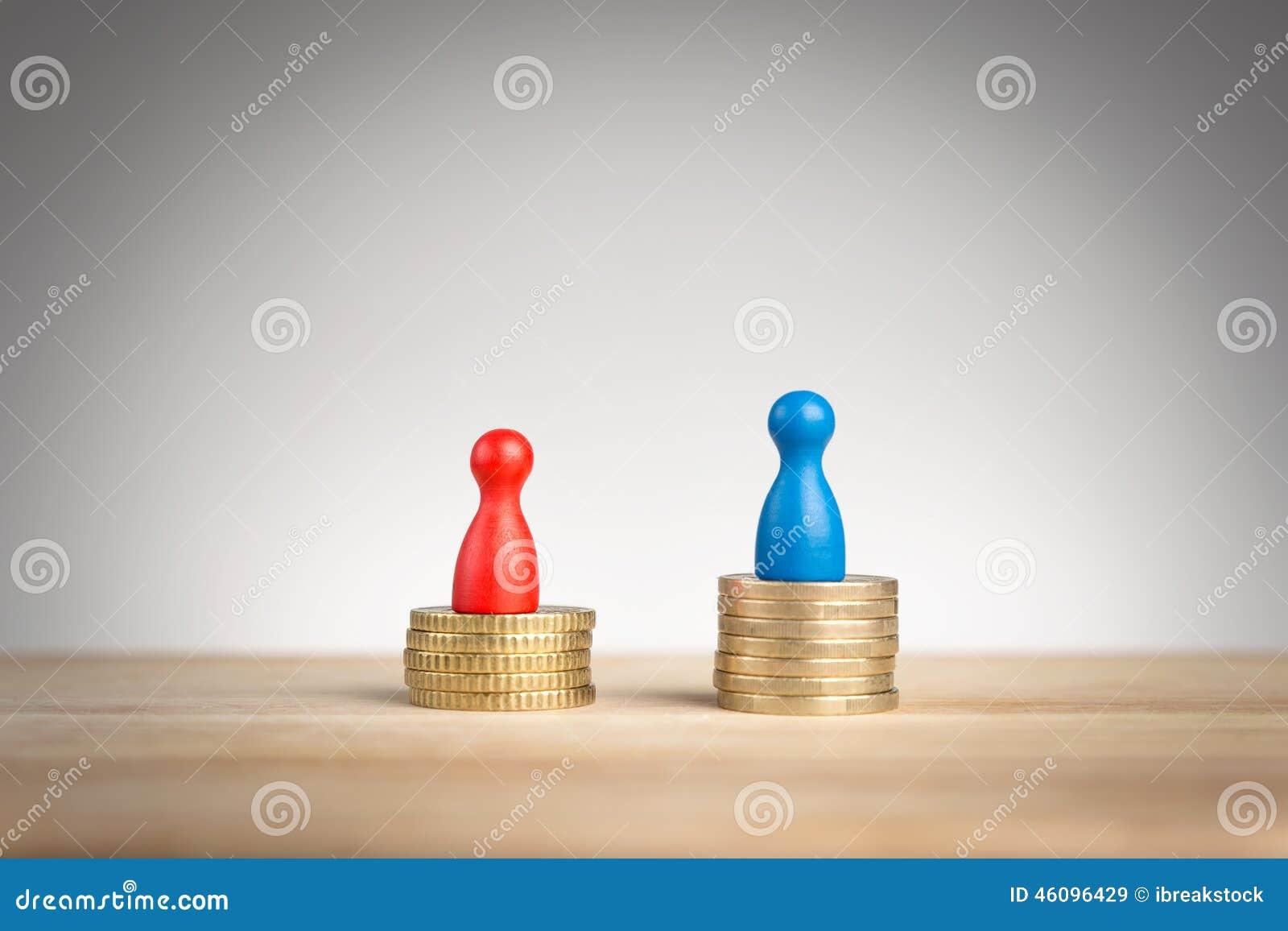Conceito da diferença de salário para o feminismo
