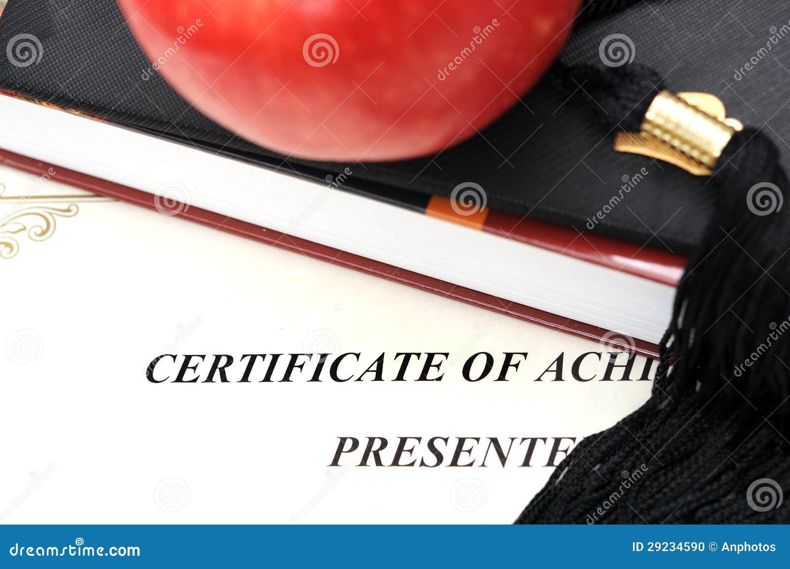Download Conceito da educação foto de stock. Imagem de pilha, certificado - 29234590