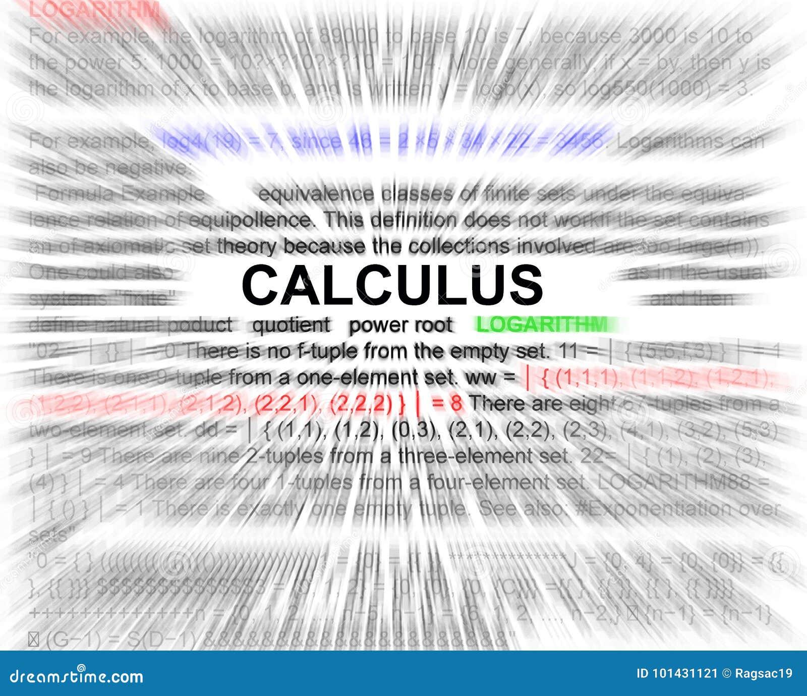 Conceito da equao dos newtons do clculo imagem de stock imagem blurr do radial do conceito da equao dos newtons do clculo ccuart Gallery