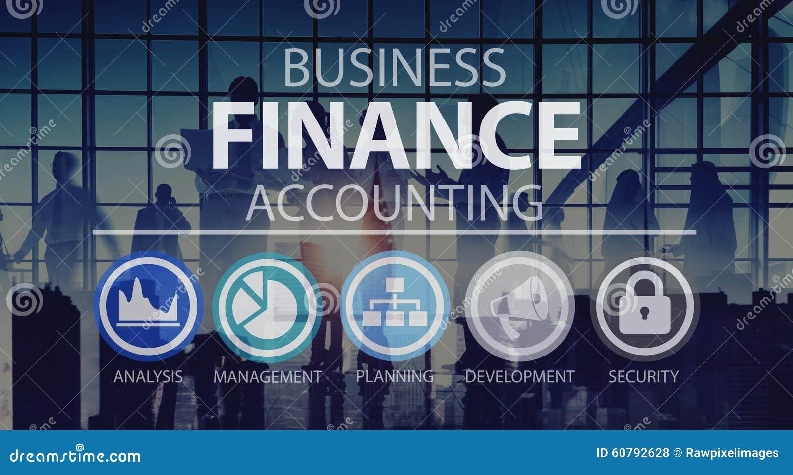 Conceito da gestão da análise financeira da contabilidade da empresa