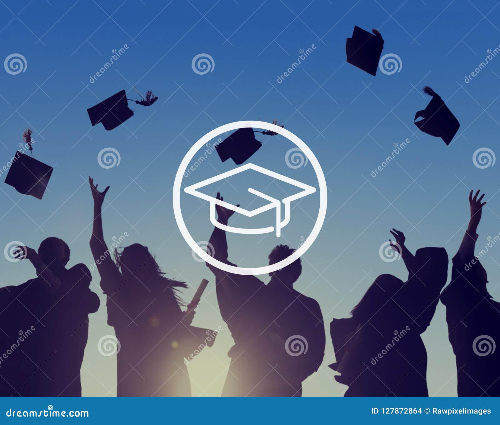 Conceito da graduação da sabedoria do conhecimento da educação da placa do almofariz