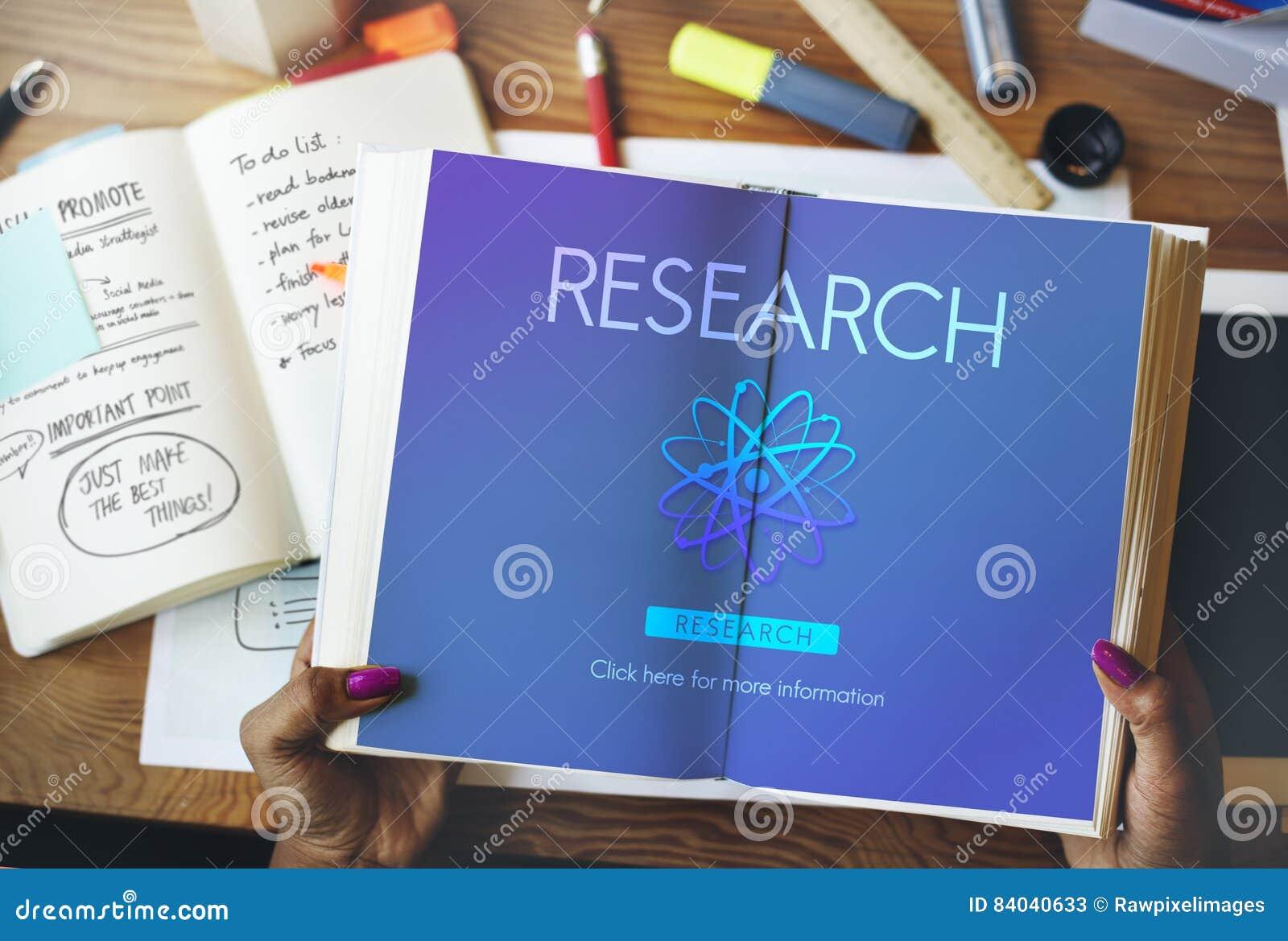 Conceito da informação da educação da descoberta da pesquisa