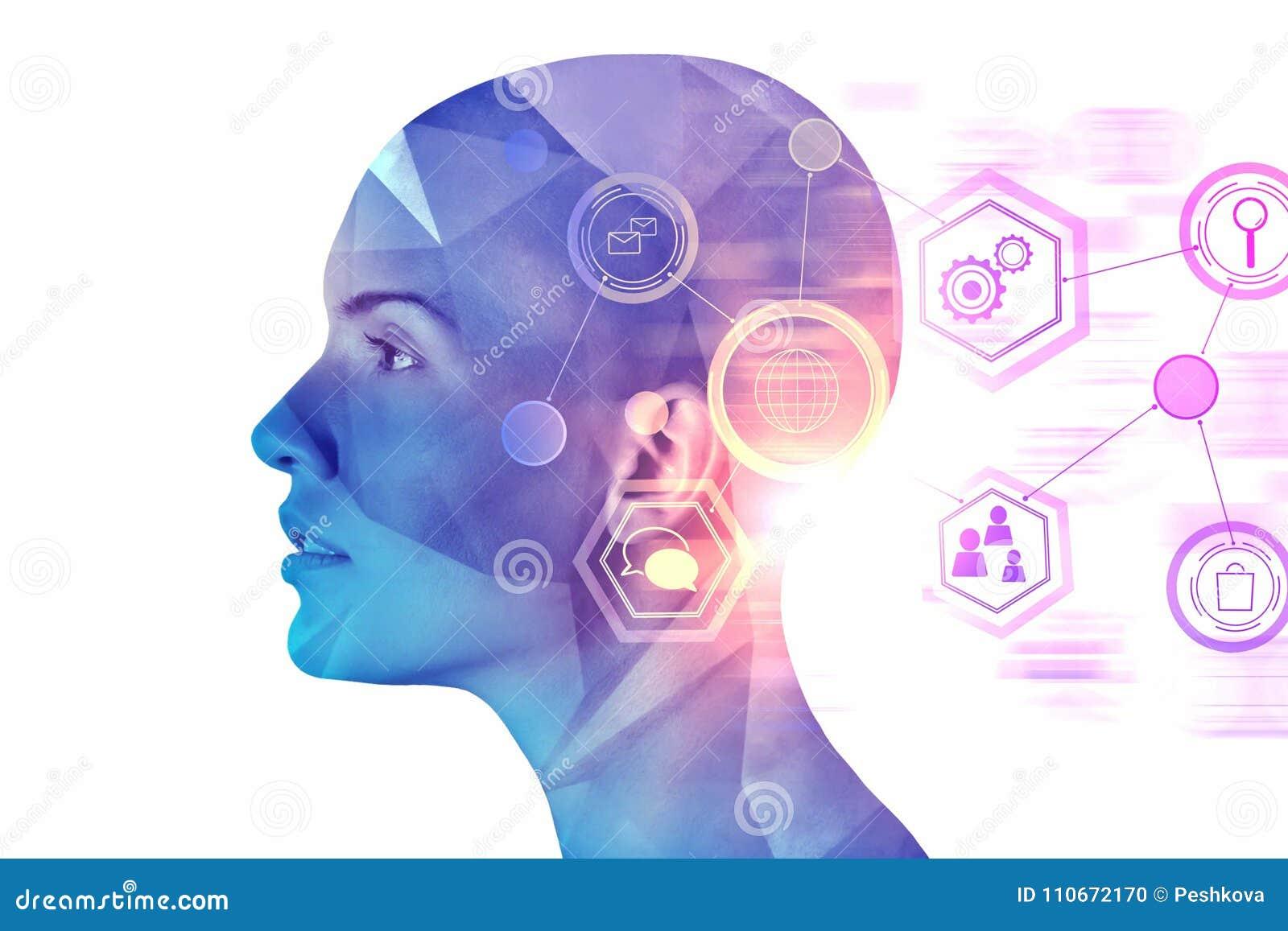 Conceito da inteligência artificial e do Cyberspace