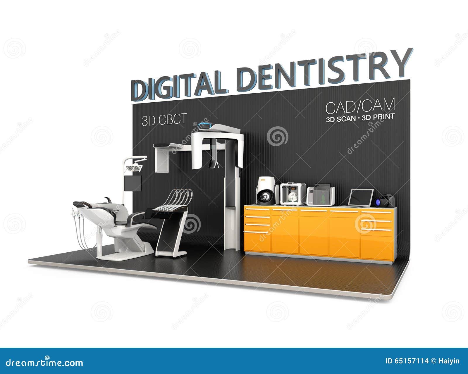 Conceito da odontologia de Digitas