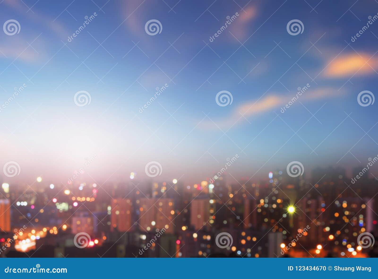Conceito da proteção ambiental: cidades grandes com ar severamente poluído