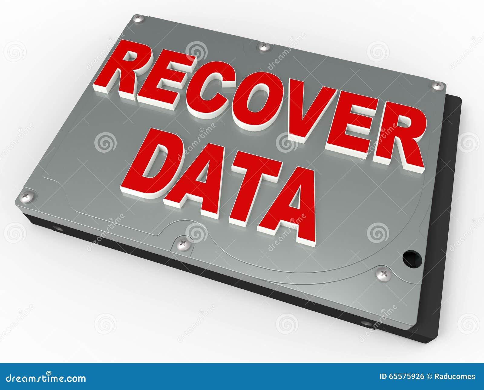 Conceito da recuperação dos dados
