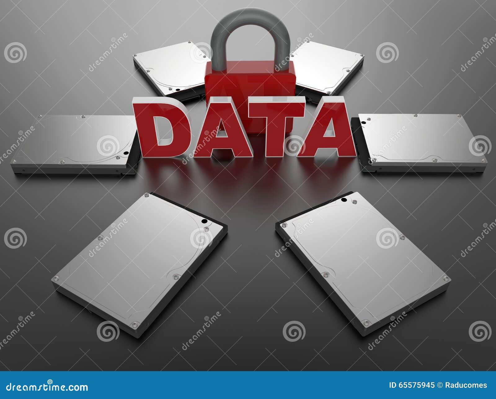 Conceito da segurança de dados de Digitas