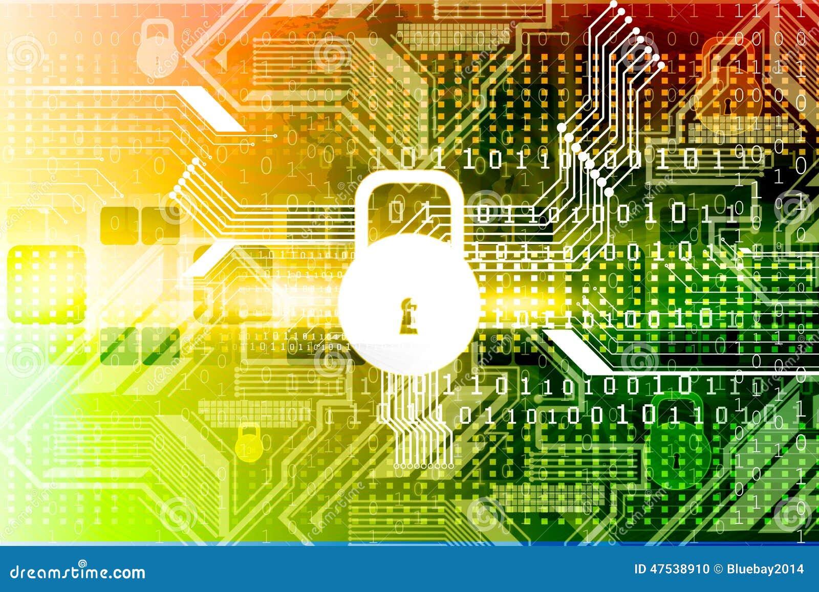 Conceito da segurança do Cyber