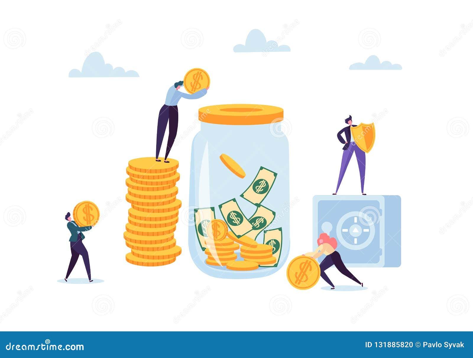 Conceito das economias do dinheiro E E