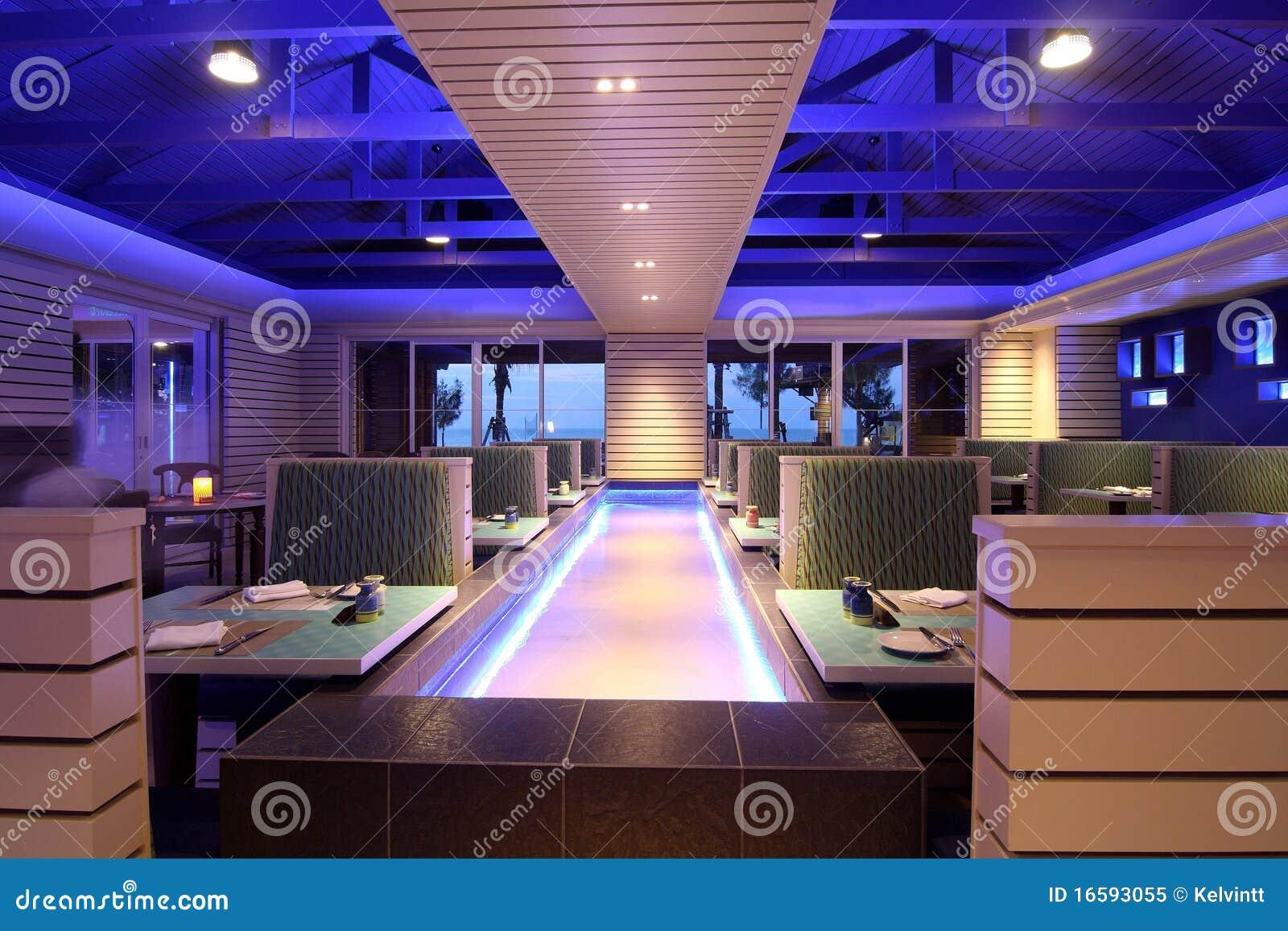 Conceito de jantar moderno do restaurante foto de stock for Planos de restaurantes modernos