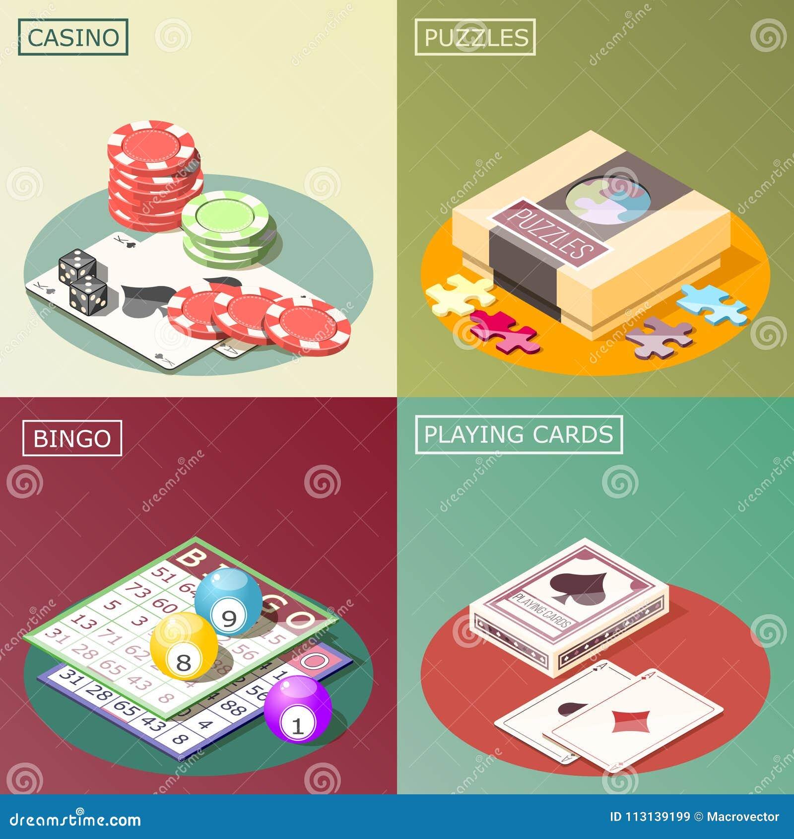 Conceito de projeto isométrico dos jogos de mesa