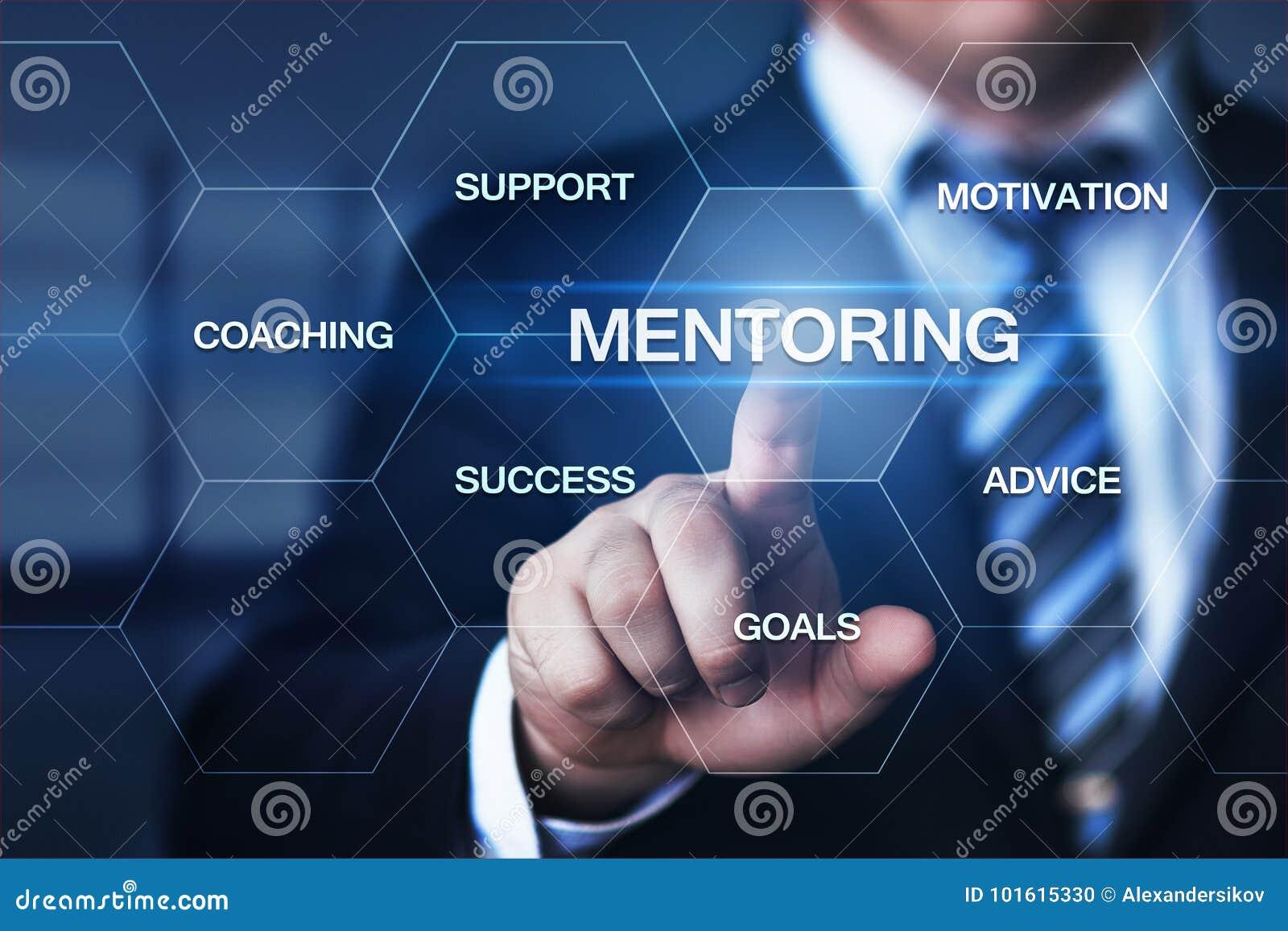 Conceito de treinamento da carreira do sucesso da motivação do negócio da tutoria