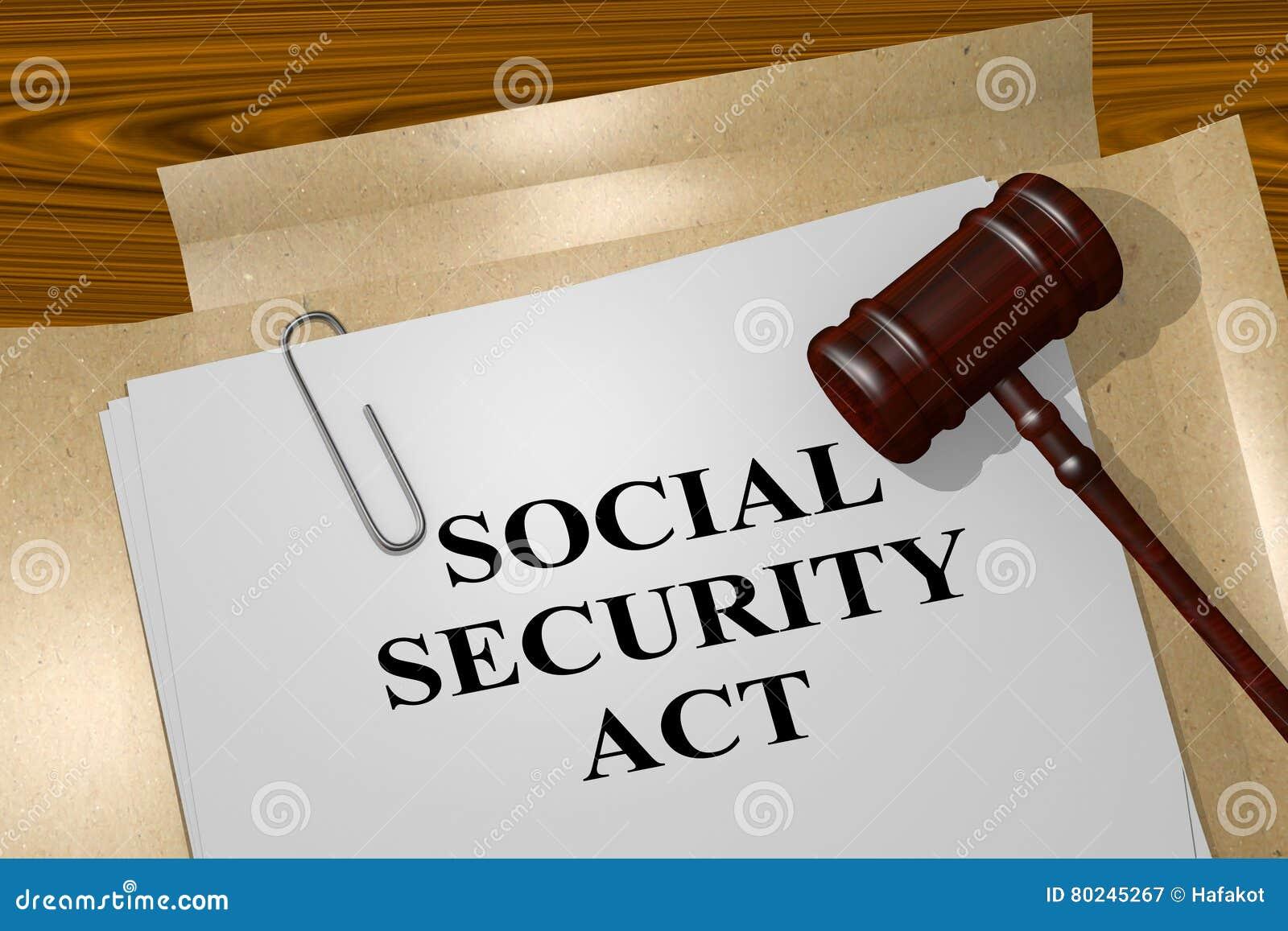 Conceito do ato da segurança social