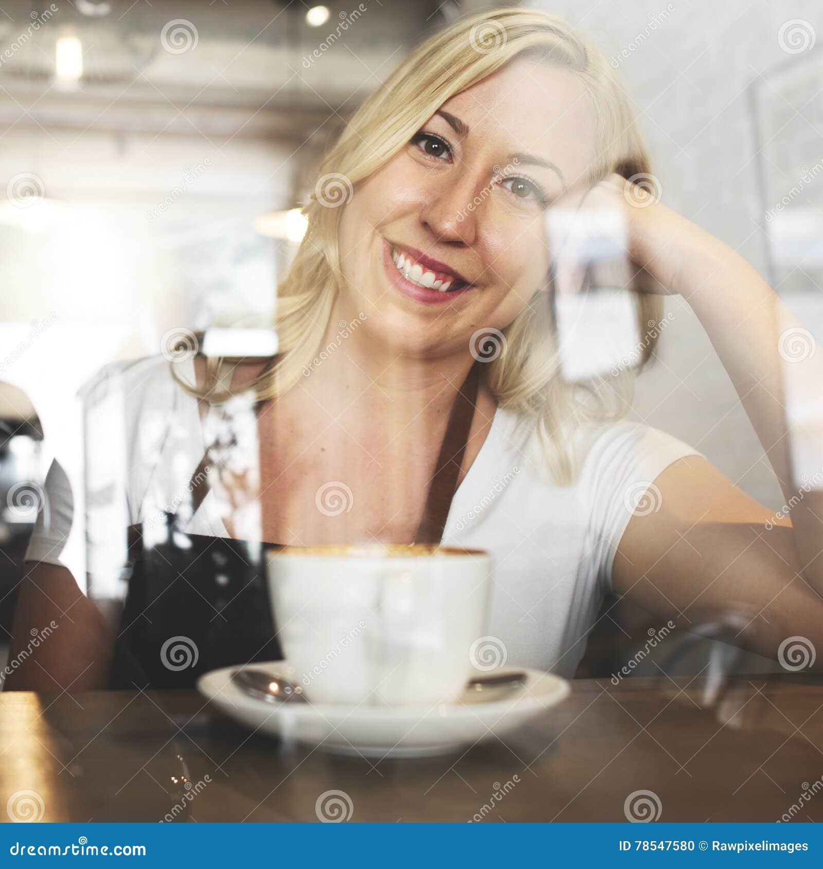 Conceito do café do serviço ao cliente do pessoal de serviço do serviço