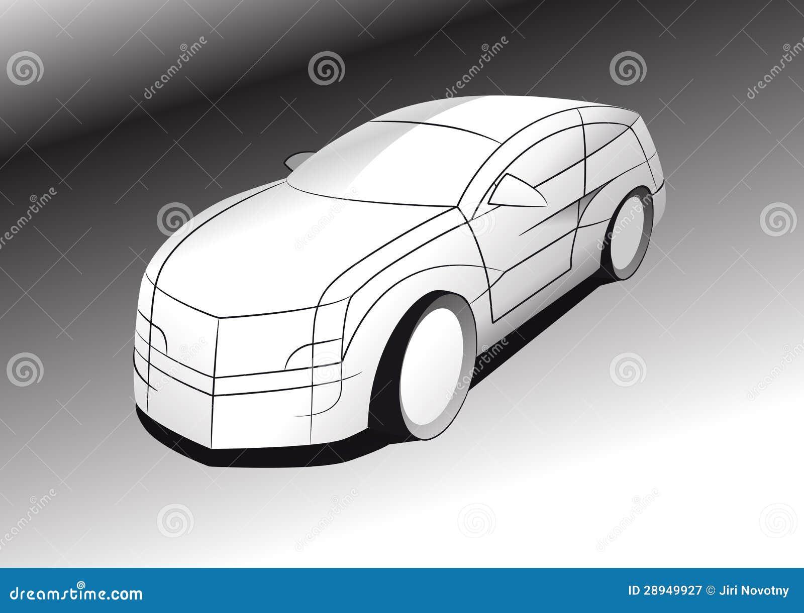 Conceito do carro