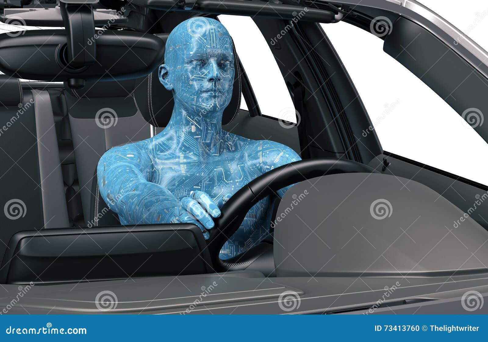 Conceito do carro decondução