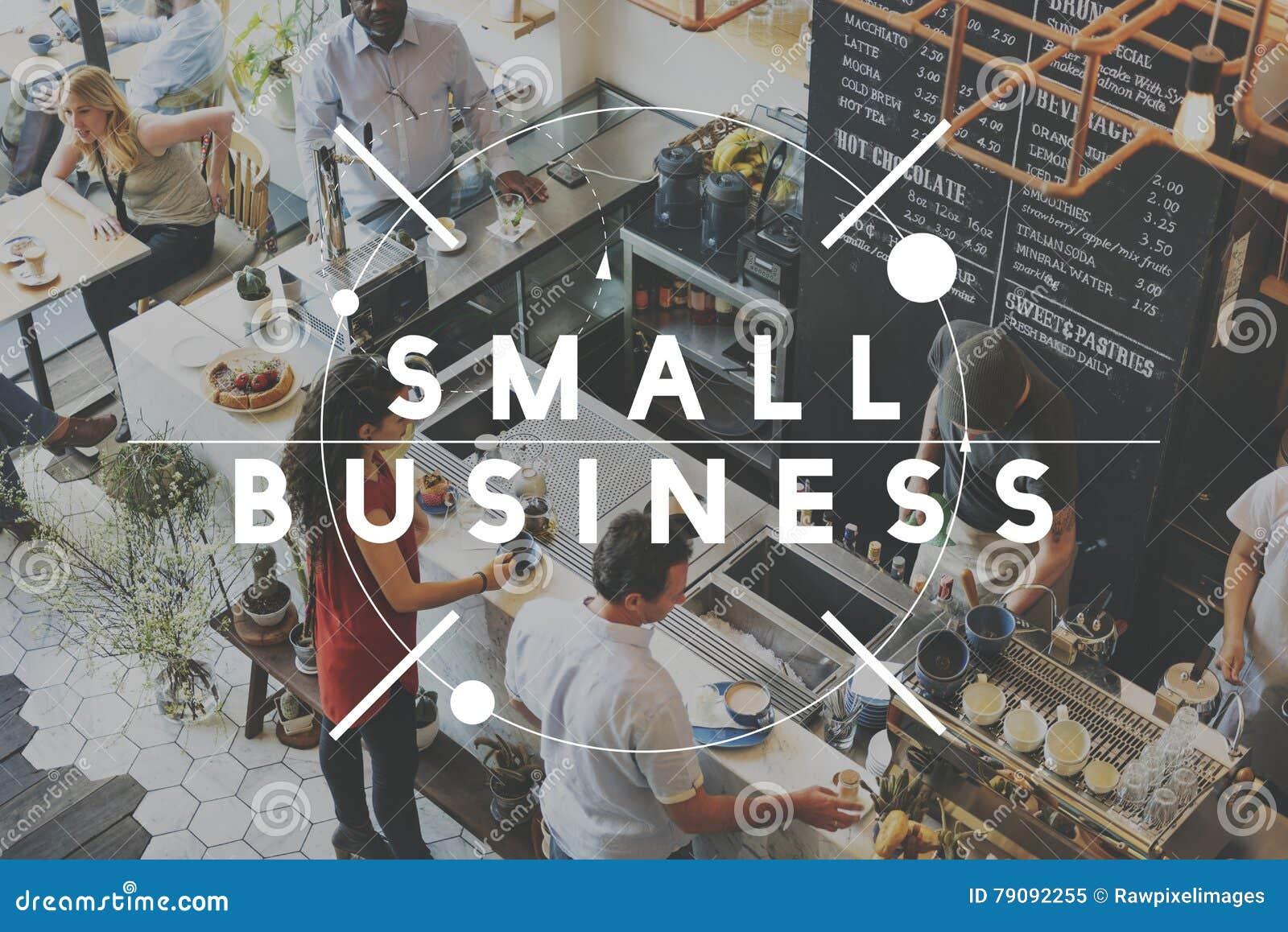 Conceito do começo das ideias do desenvolvimento da empresa da empresa de pequeno porte