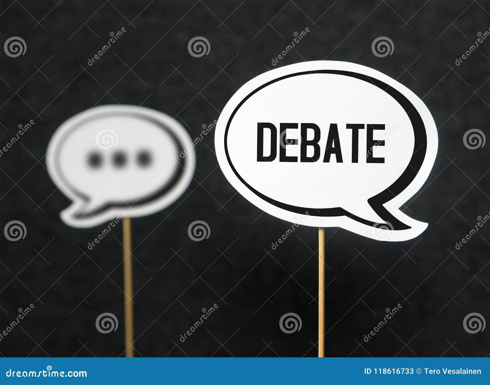 Conceito do debate, do diálogo, da comunicação e da educação