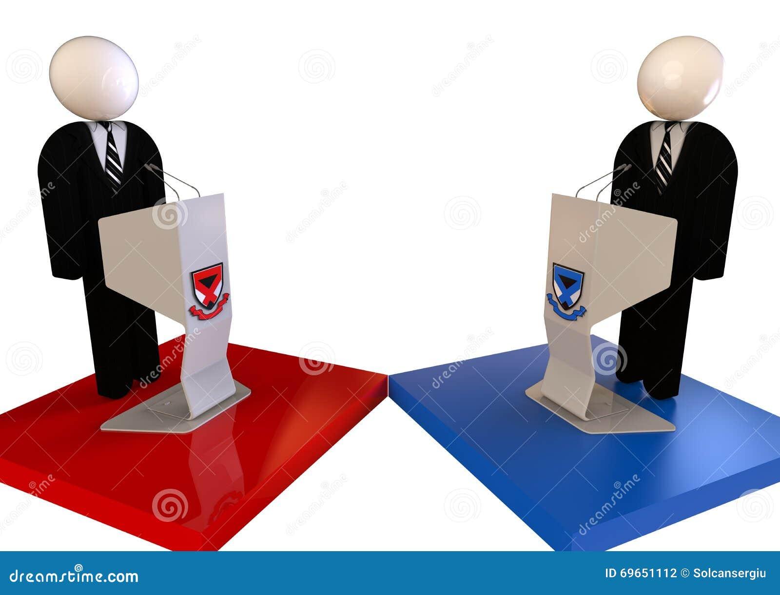Conceito do debate político