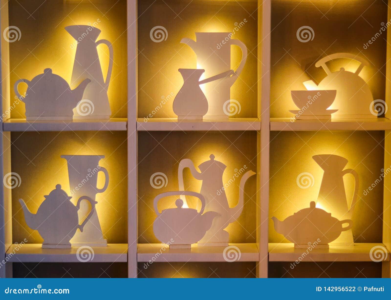 Conceito do design de interiores do café