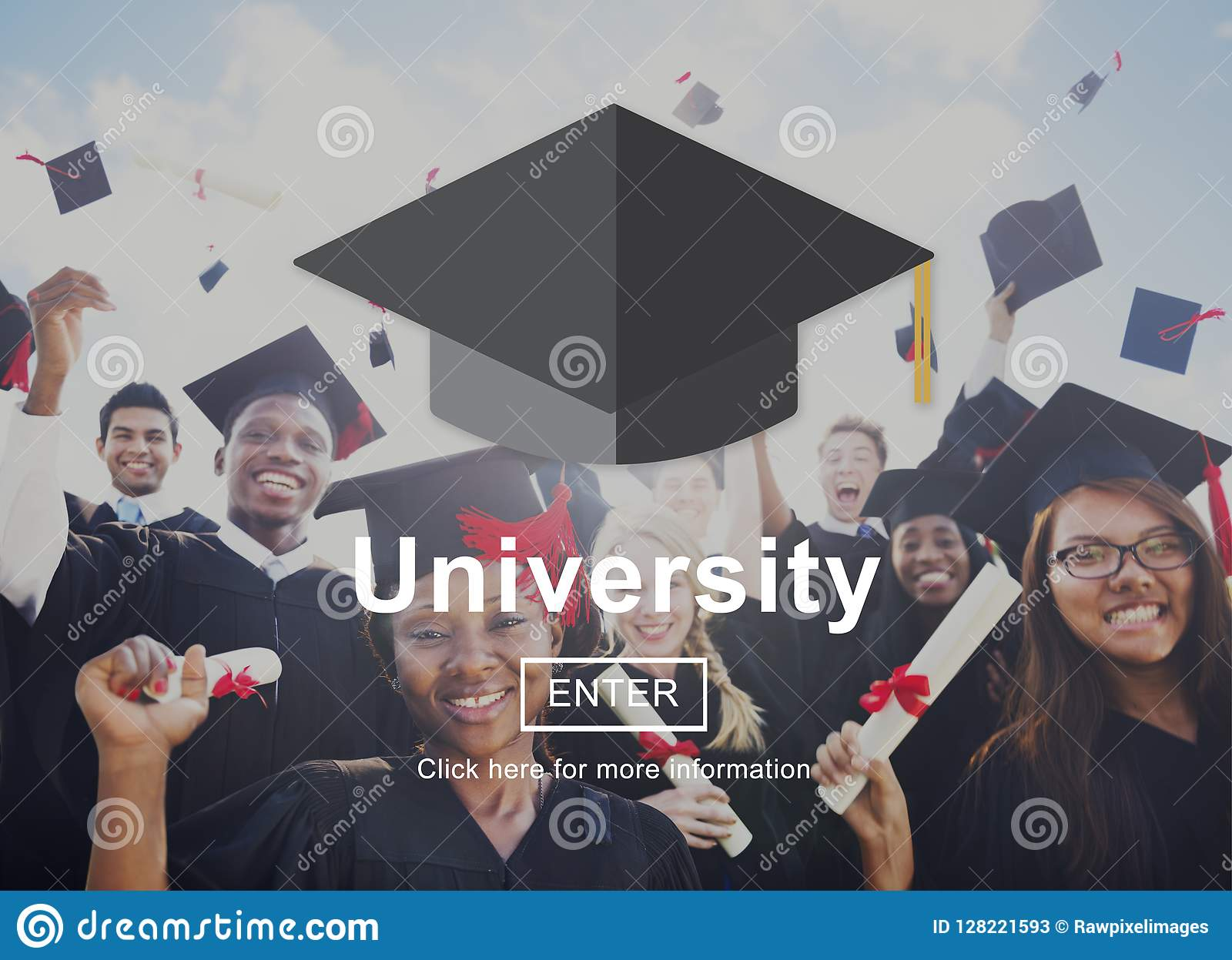 Conceito do ensino universitário do terreno da academia da universidade