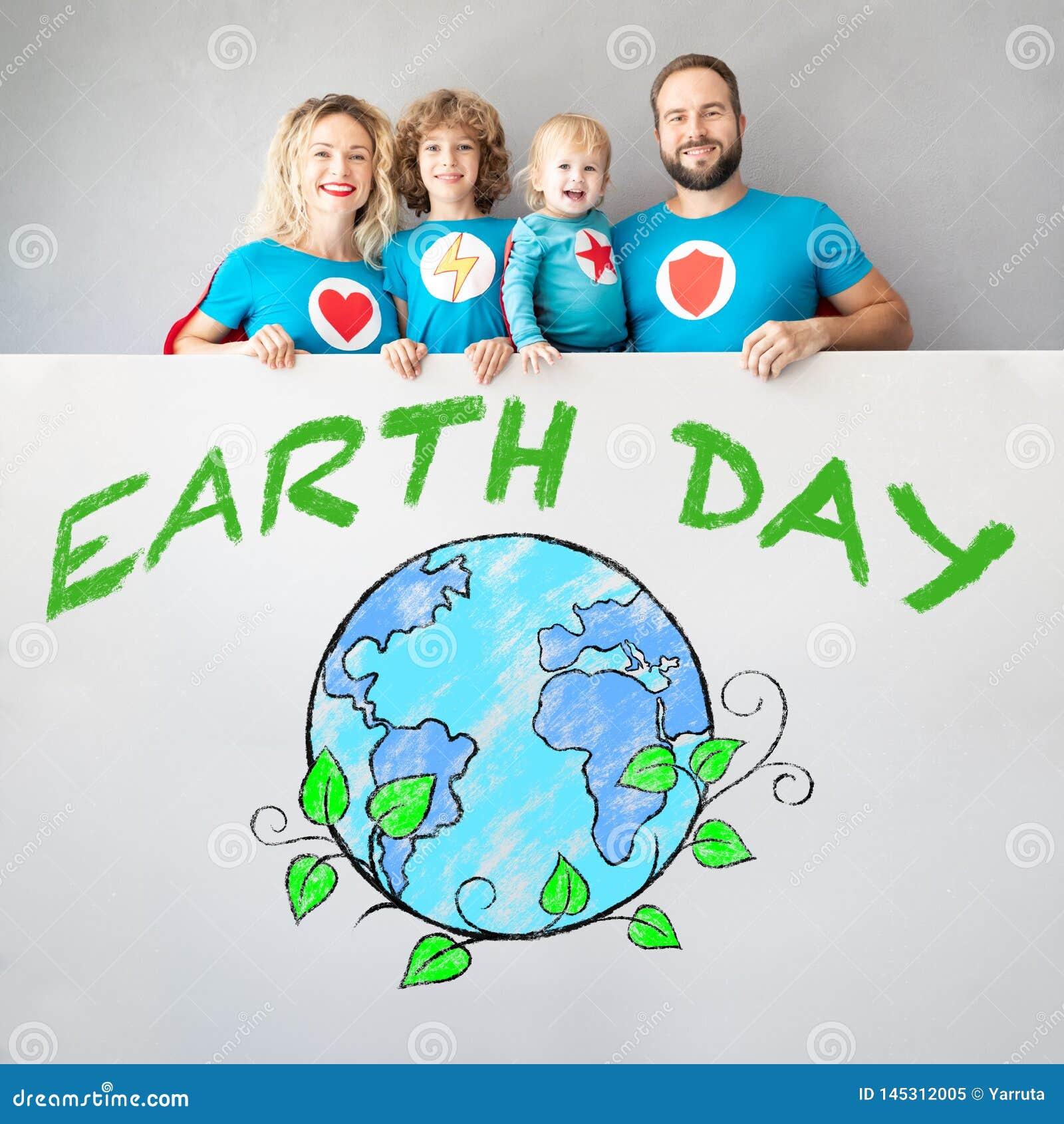 Conceito do feriado da mola do Dia da Terra