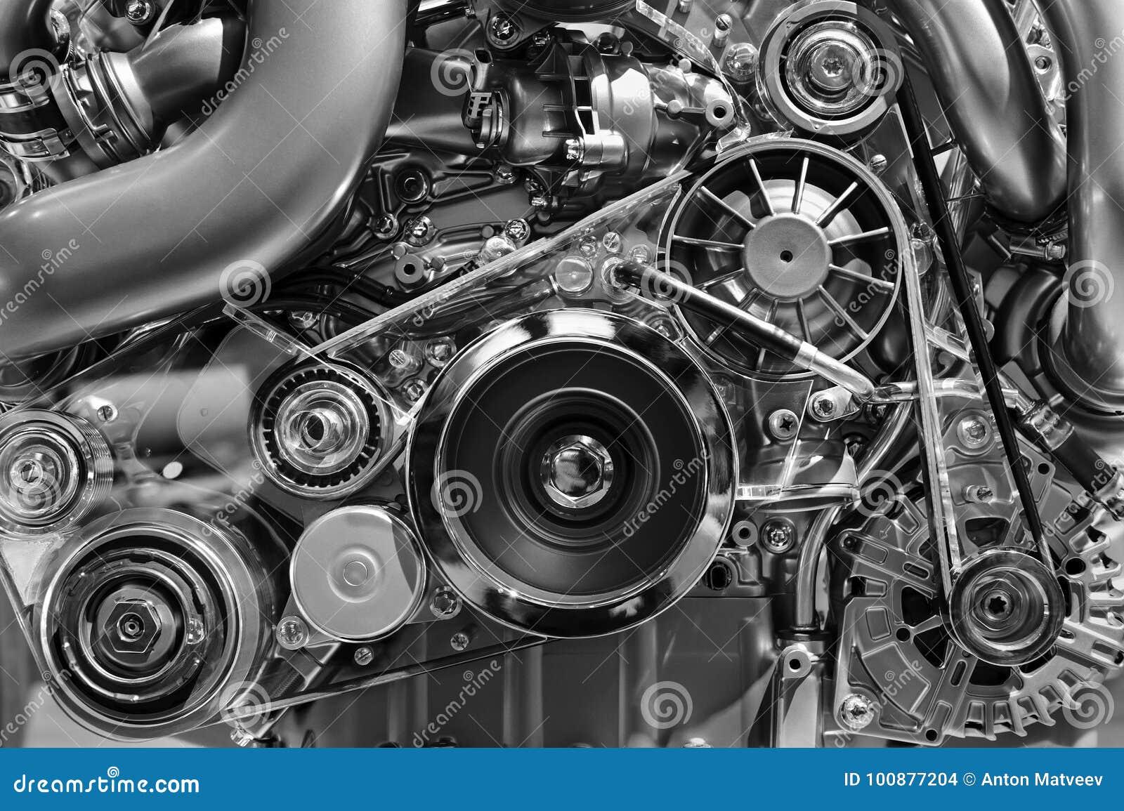 Conceito do motor de automóveis