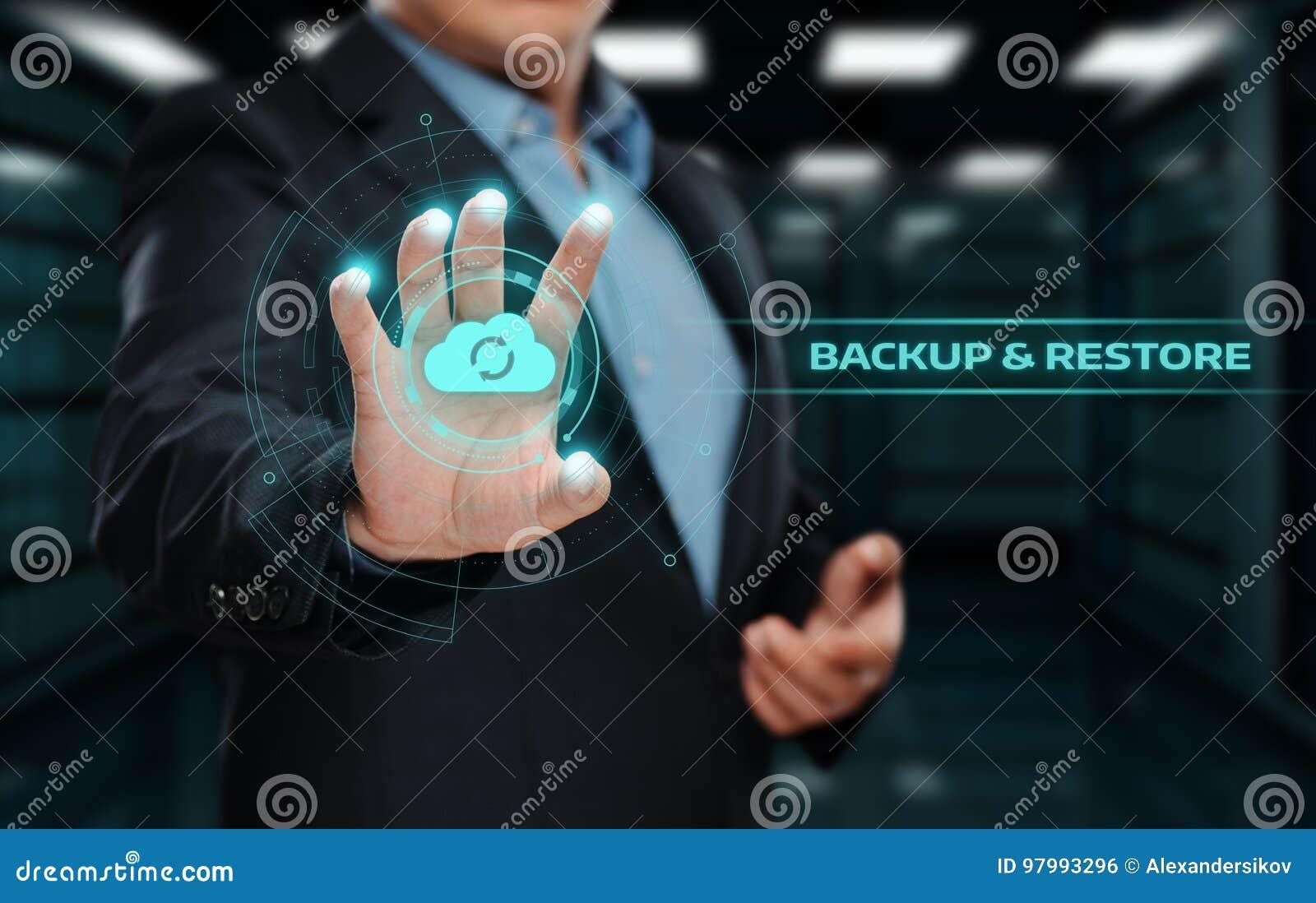 Conceito do negócio da tecnologia do Internet dos dados do armazenamento alternativo