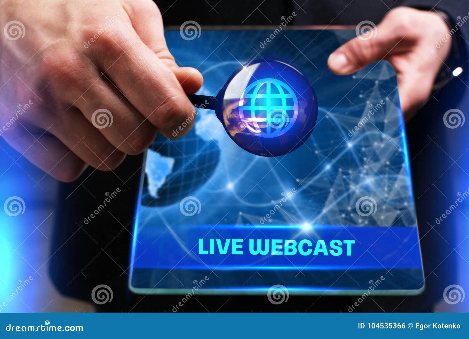 Conceito do negócio, da tecnologia, do Internet e da rede Busine novo