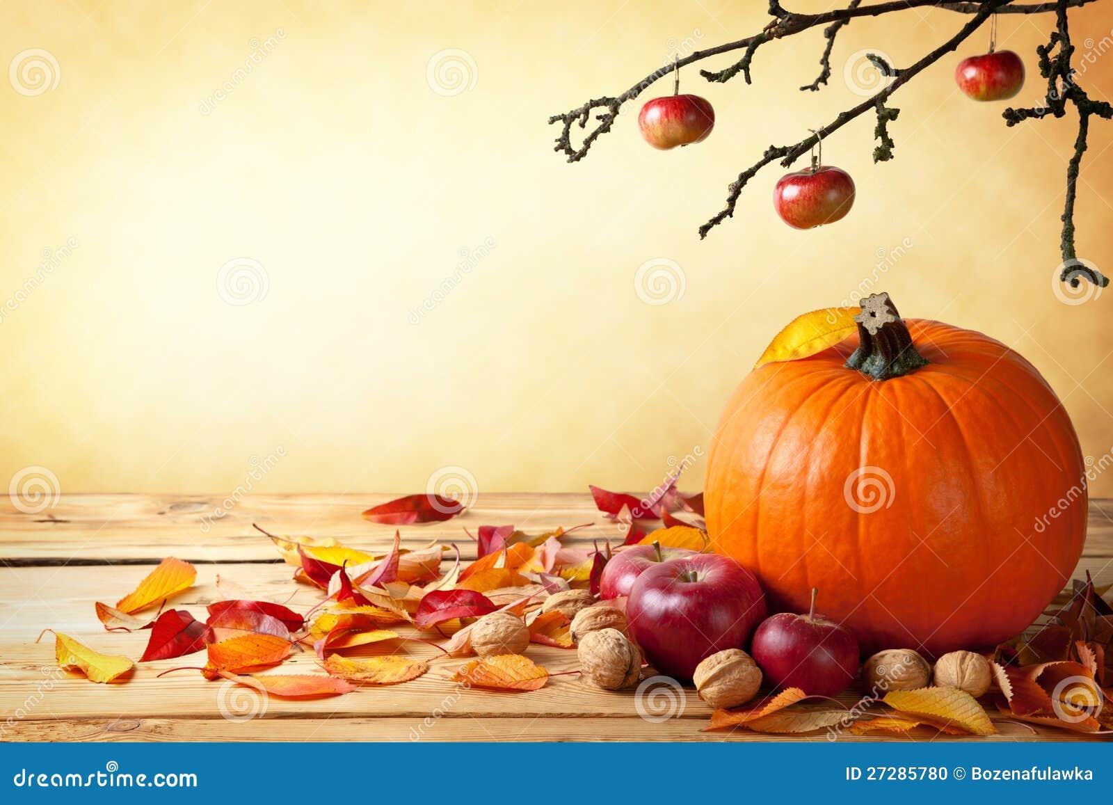 Conceito do outono