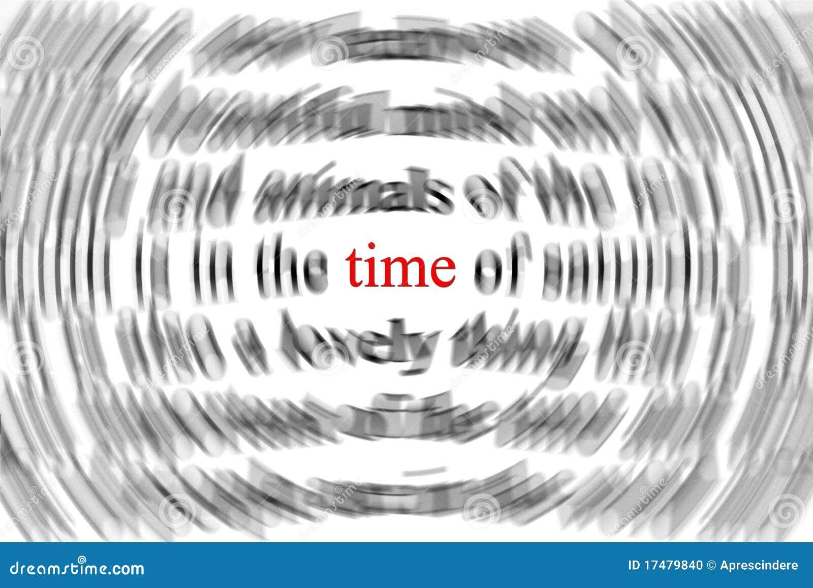 Conceito do tempo