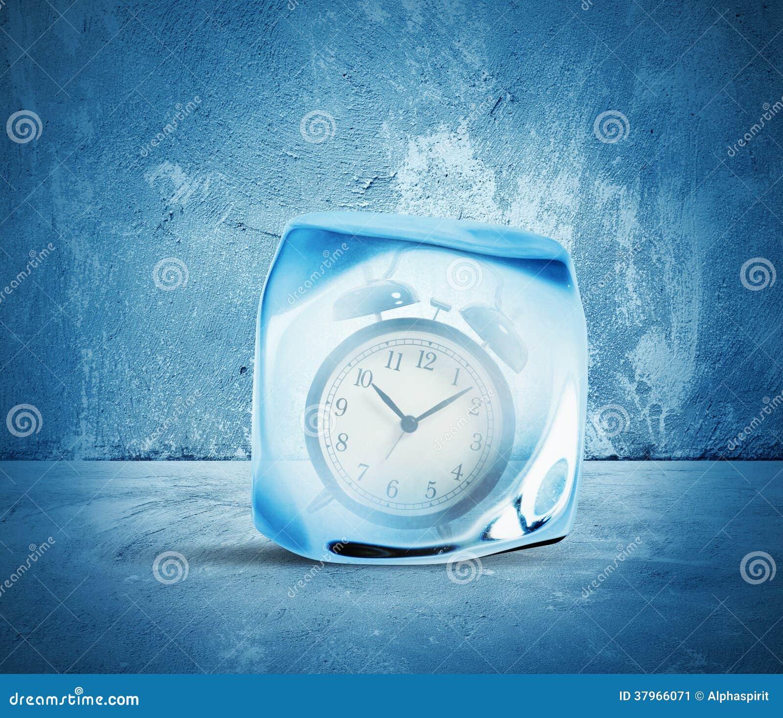 Conceito do tempo do gelo