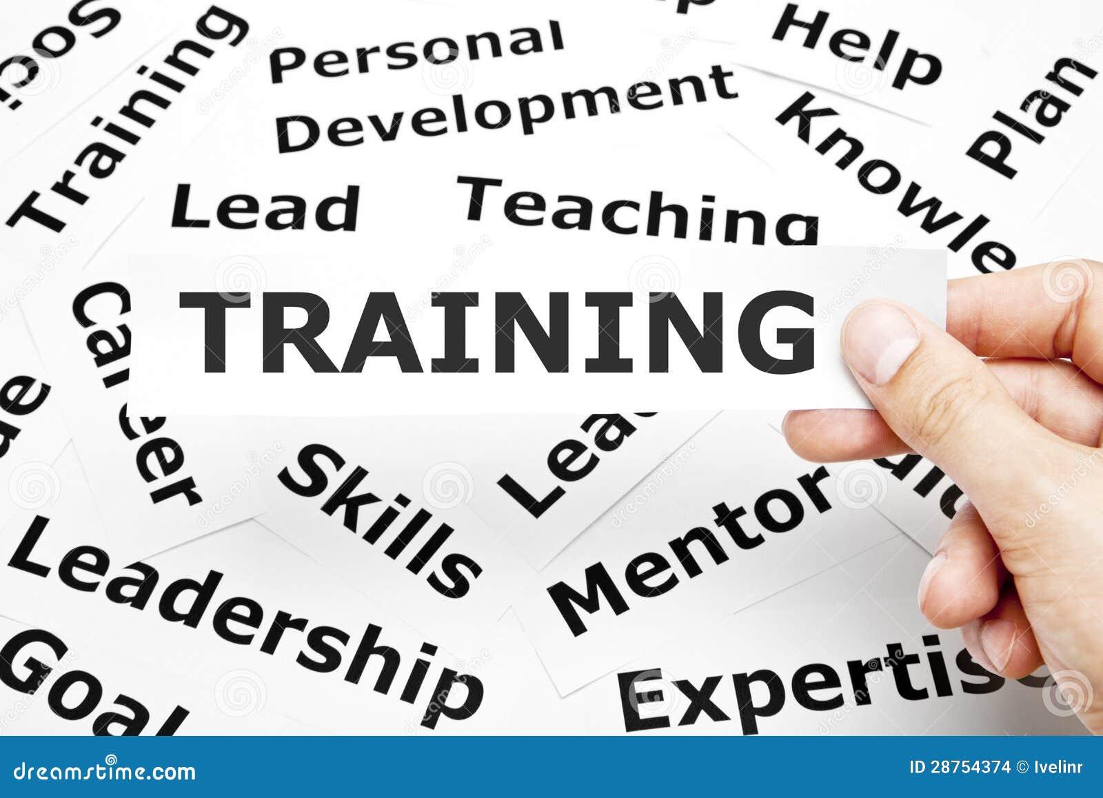 Conceito do treinamento