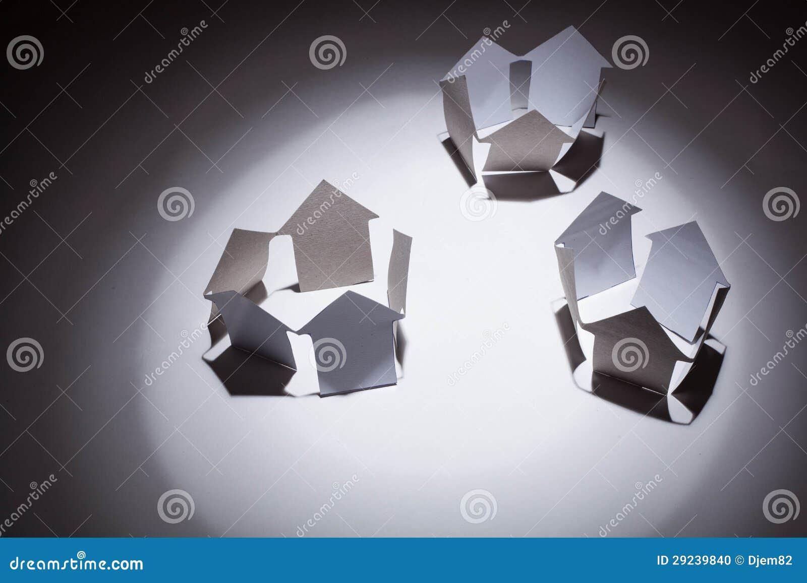Download Conceito Dos Bens Imobiliários. Foto de Stock - Imagem de arquiteto, papel: 29239840
