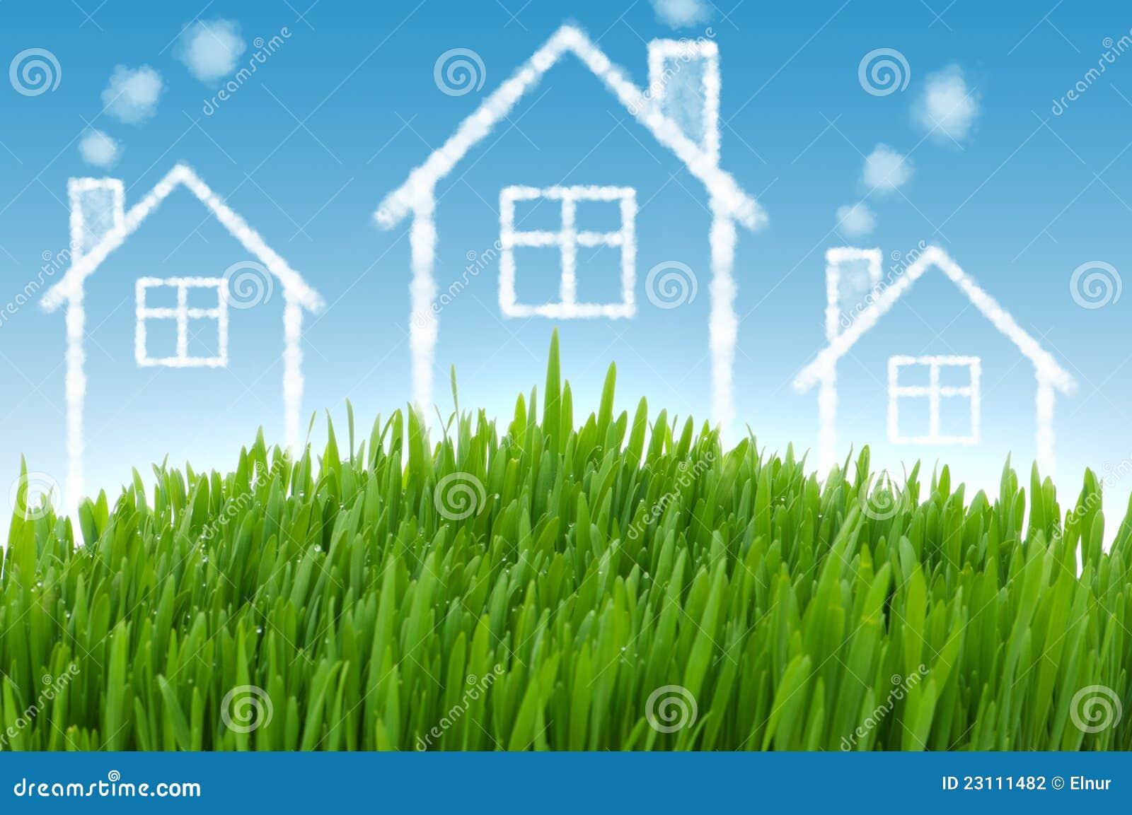 Conceito dos bens imobiliários com casas