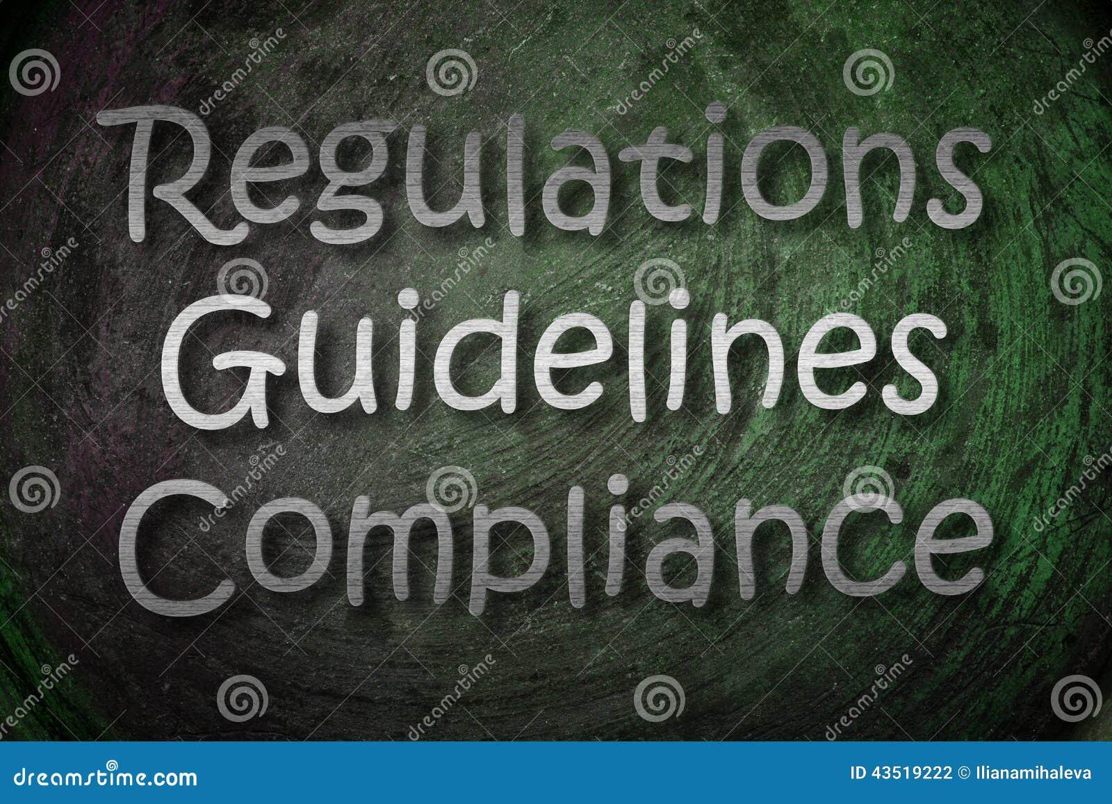 Conceito dos regulamentos