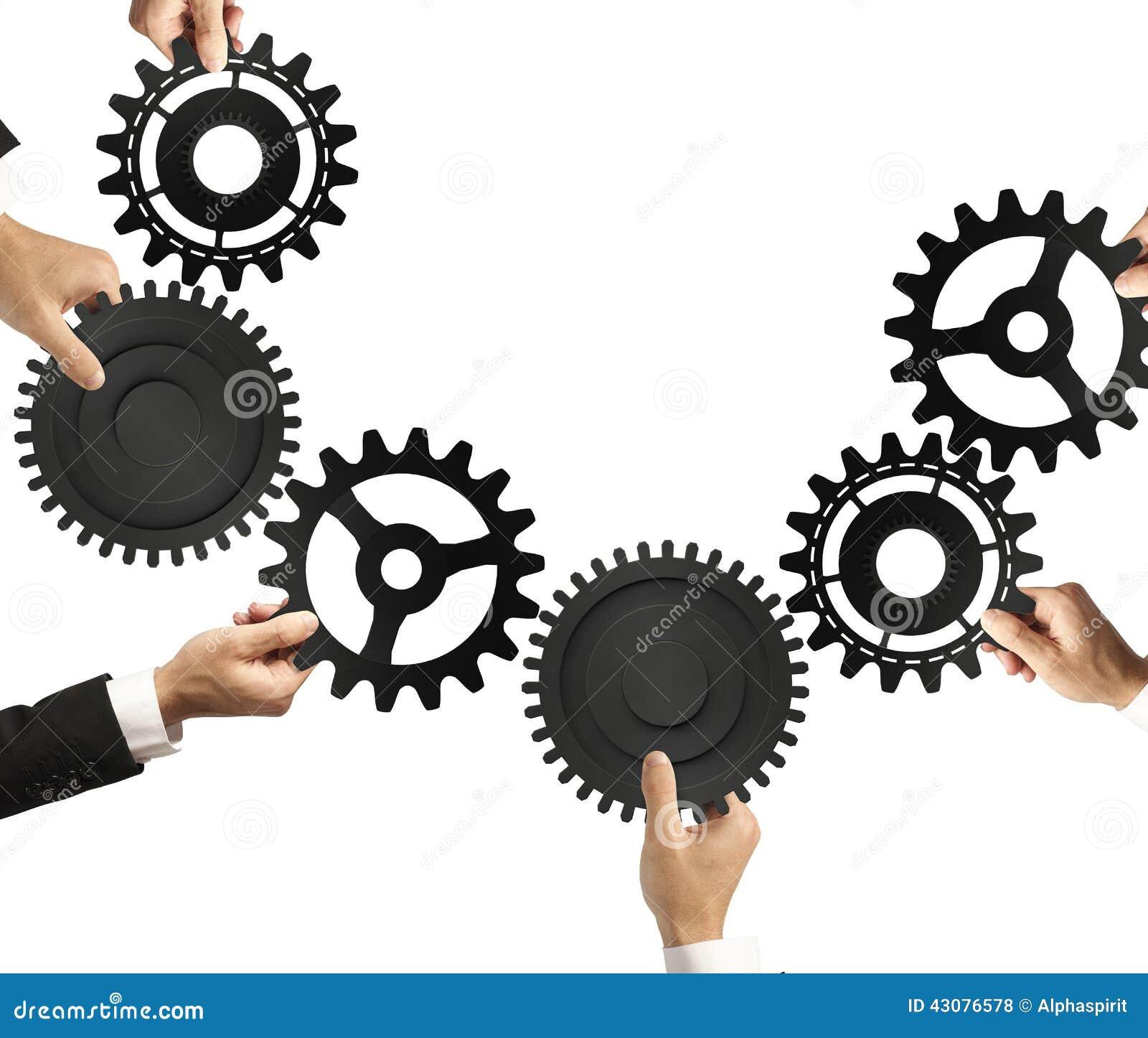 Conceito dos trabalhos de equipa e da integração