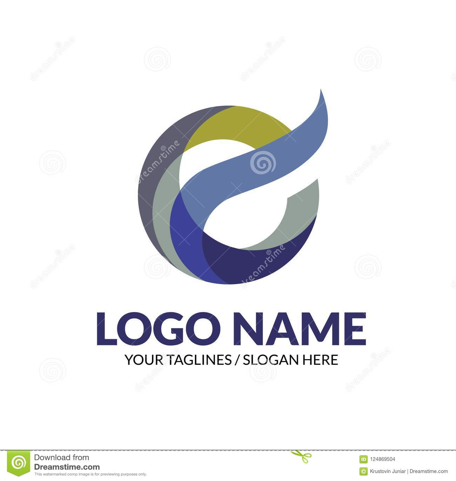Conceito elegante moderno criativo do logotipo da letra E
