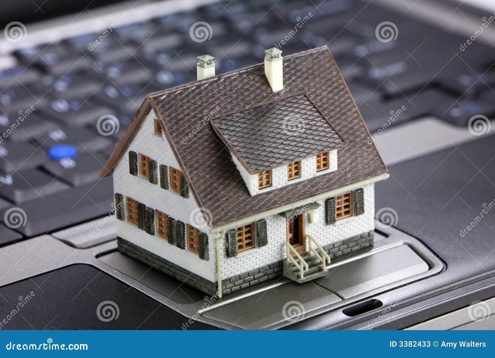 Conceito em linha dos bens imobiliários
