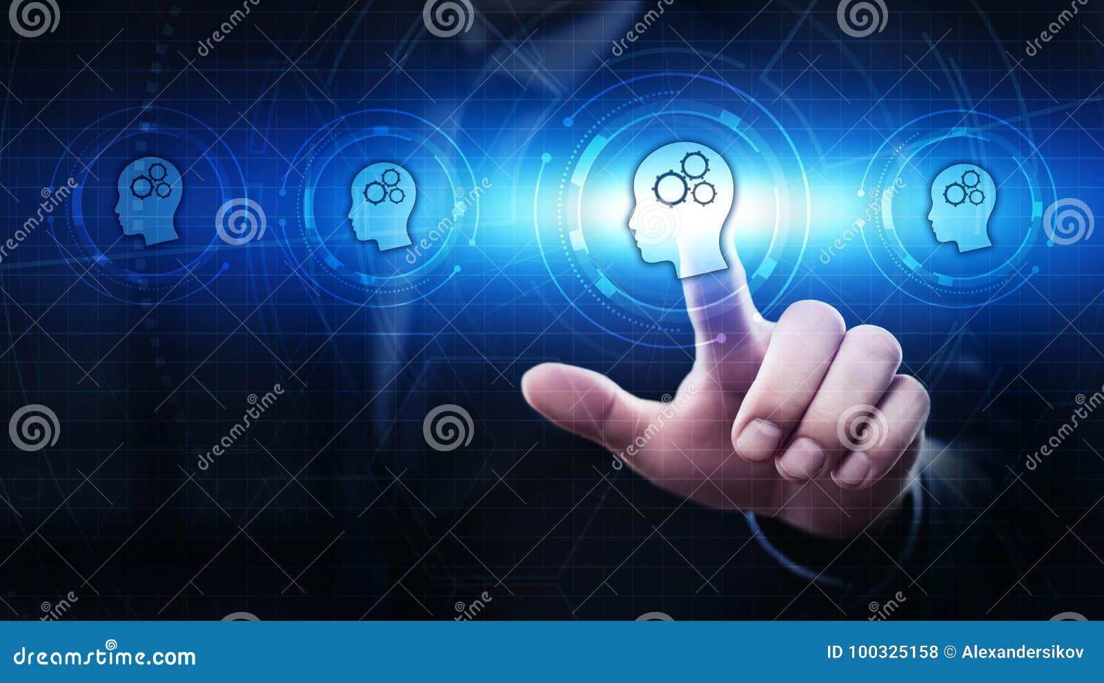 Conceito em linha dos cursos de Webinar da tecnologia do Internet da educação do ensino eletrónico