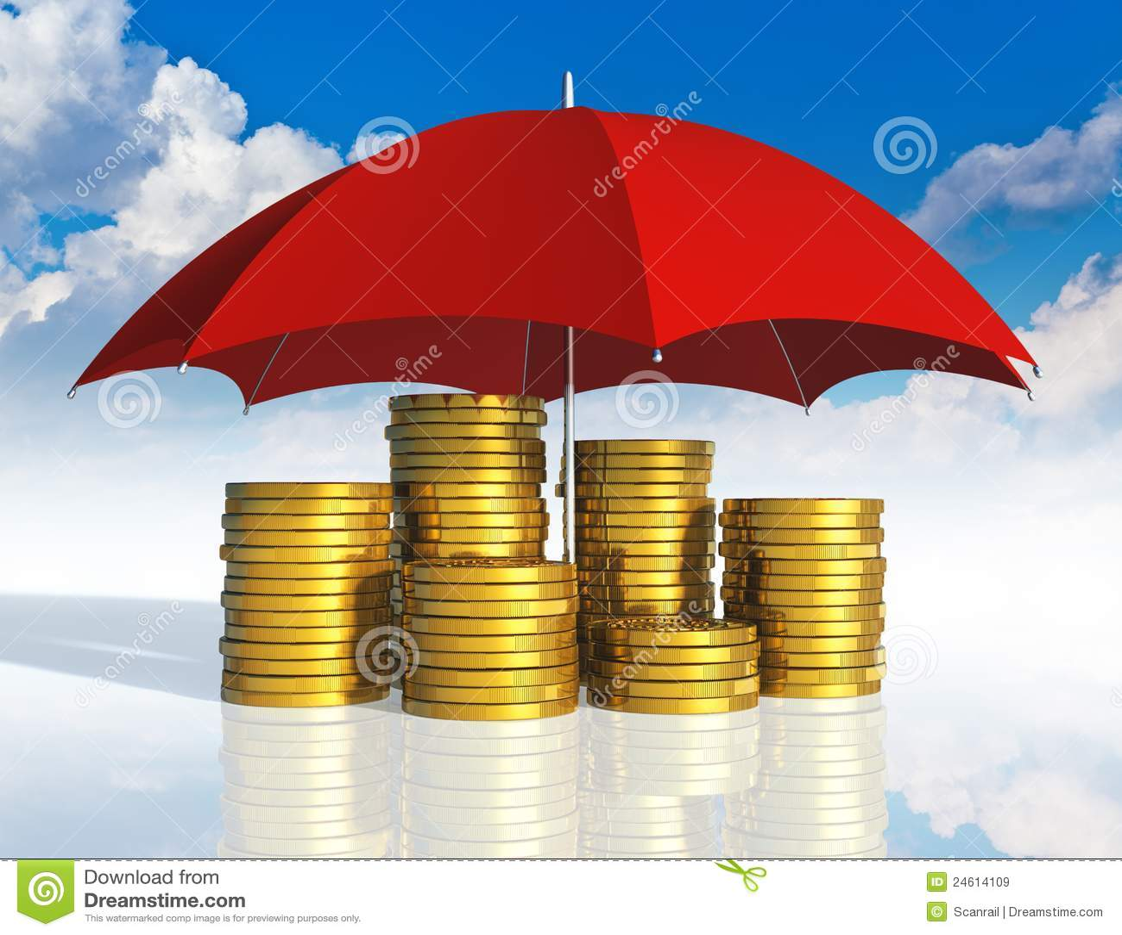 Conceito financeiro do sucesso da estabilidade e de negócio