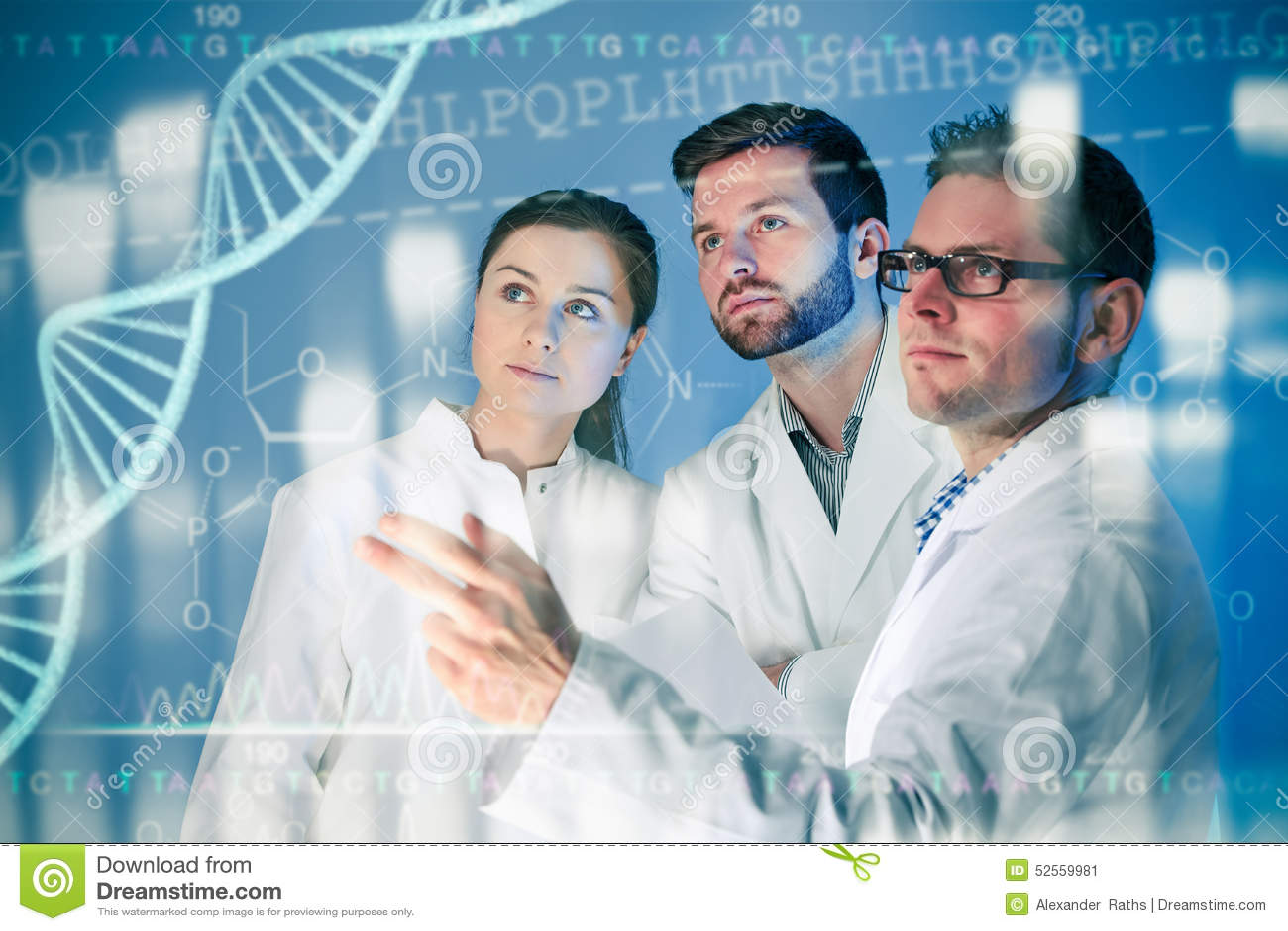 Conceito genético do ADN isolado no fundo branco