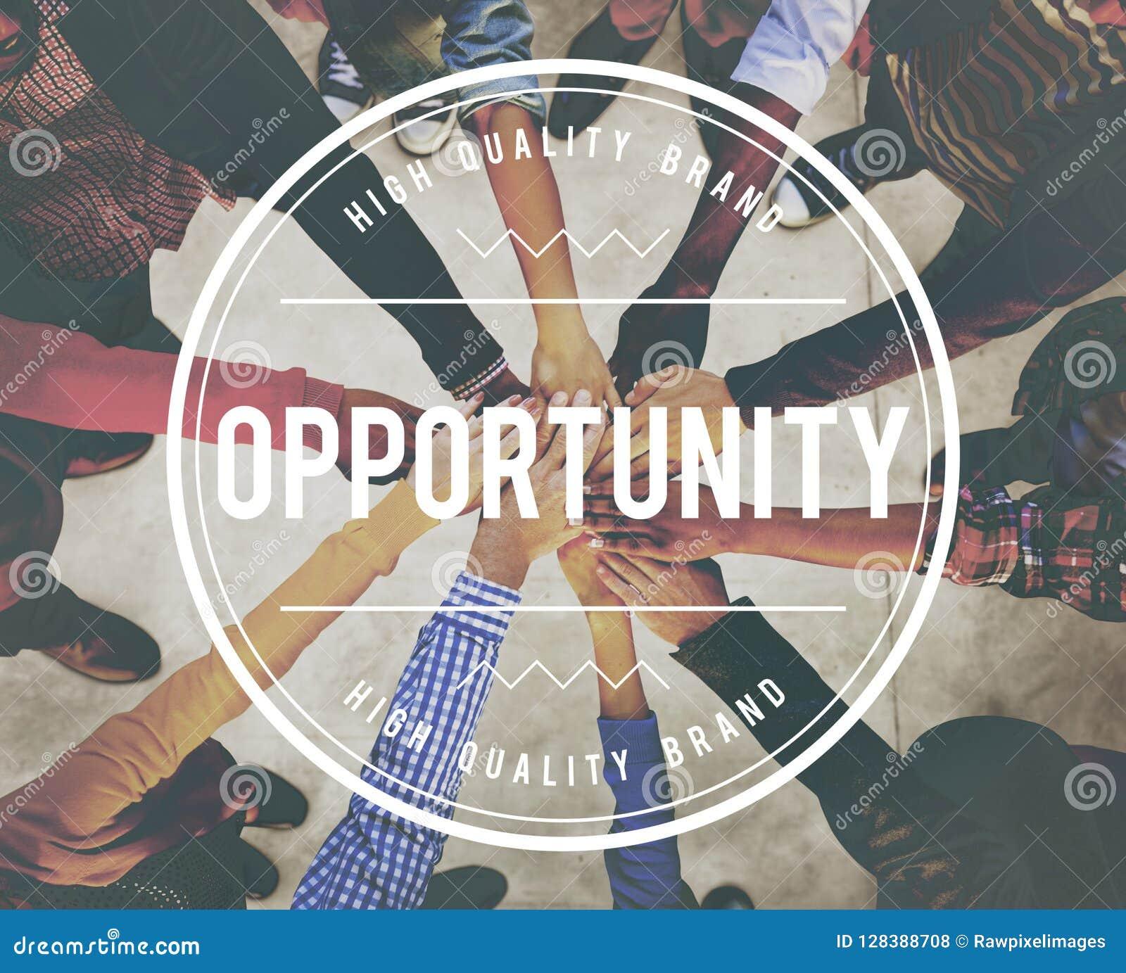 Conceito impossível do desenvolvimento da realização da oportunidade