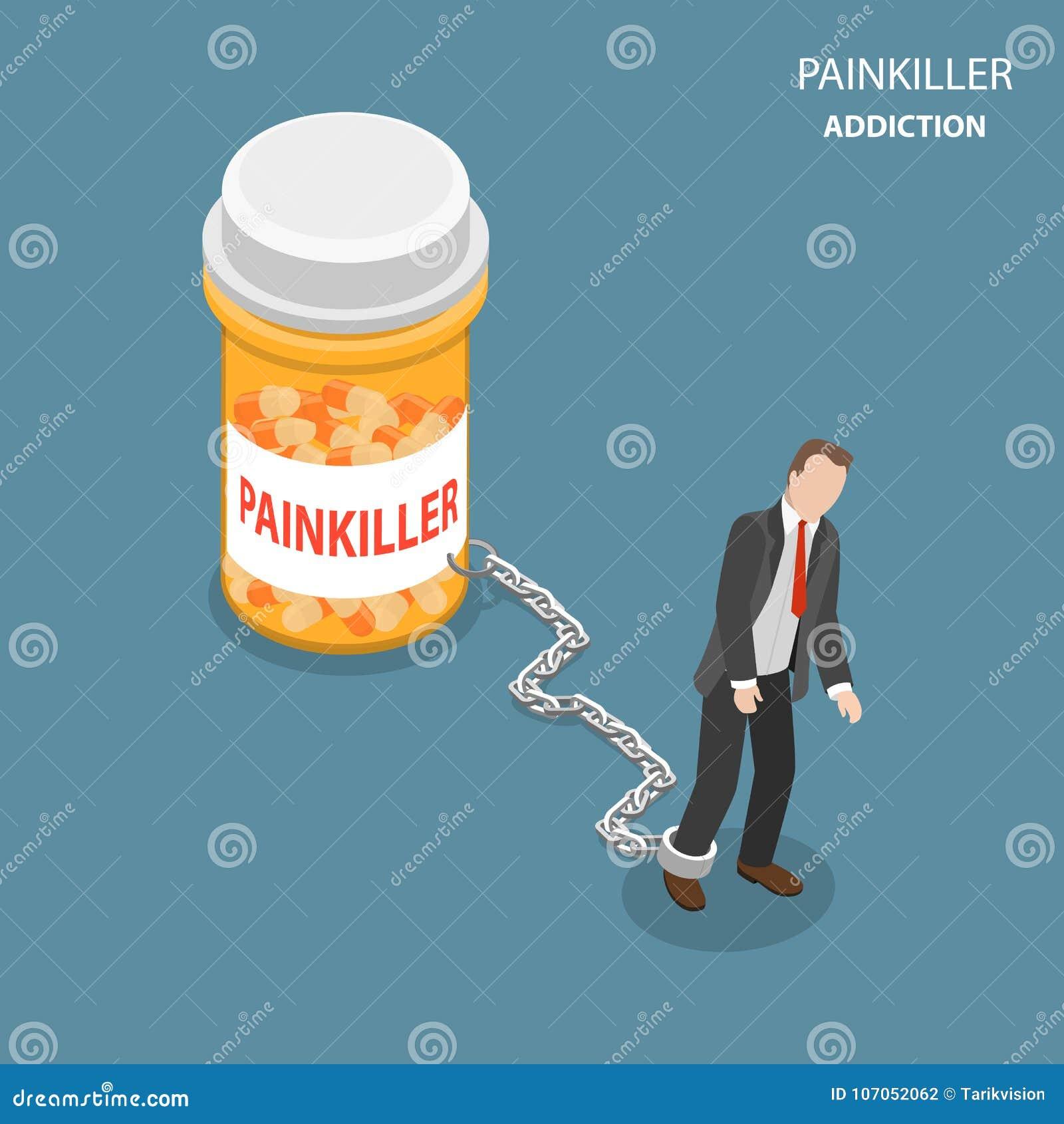 Conceito isométrico liso do vetor do apego de Pinkiller