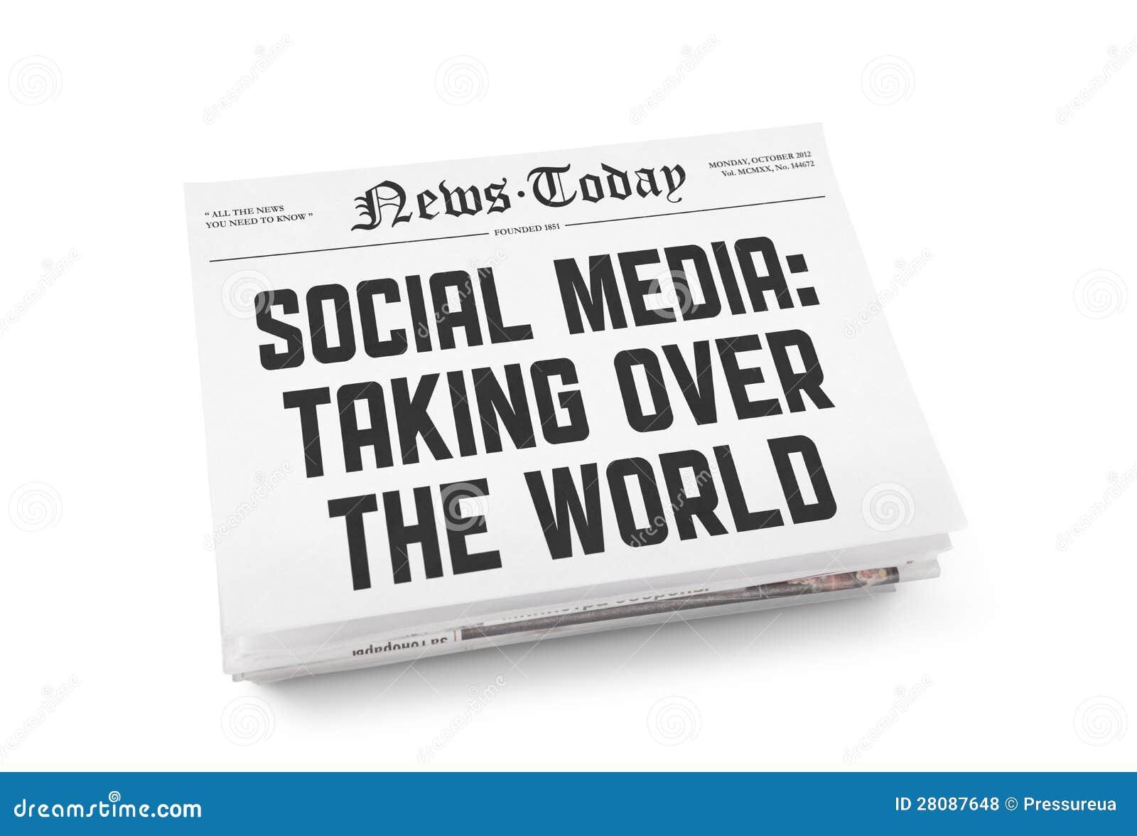 Conceito social do jornal dos media